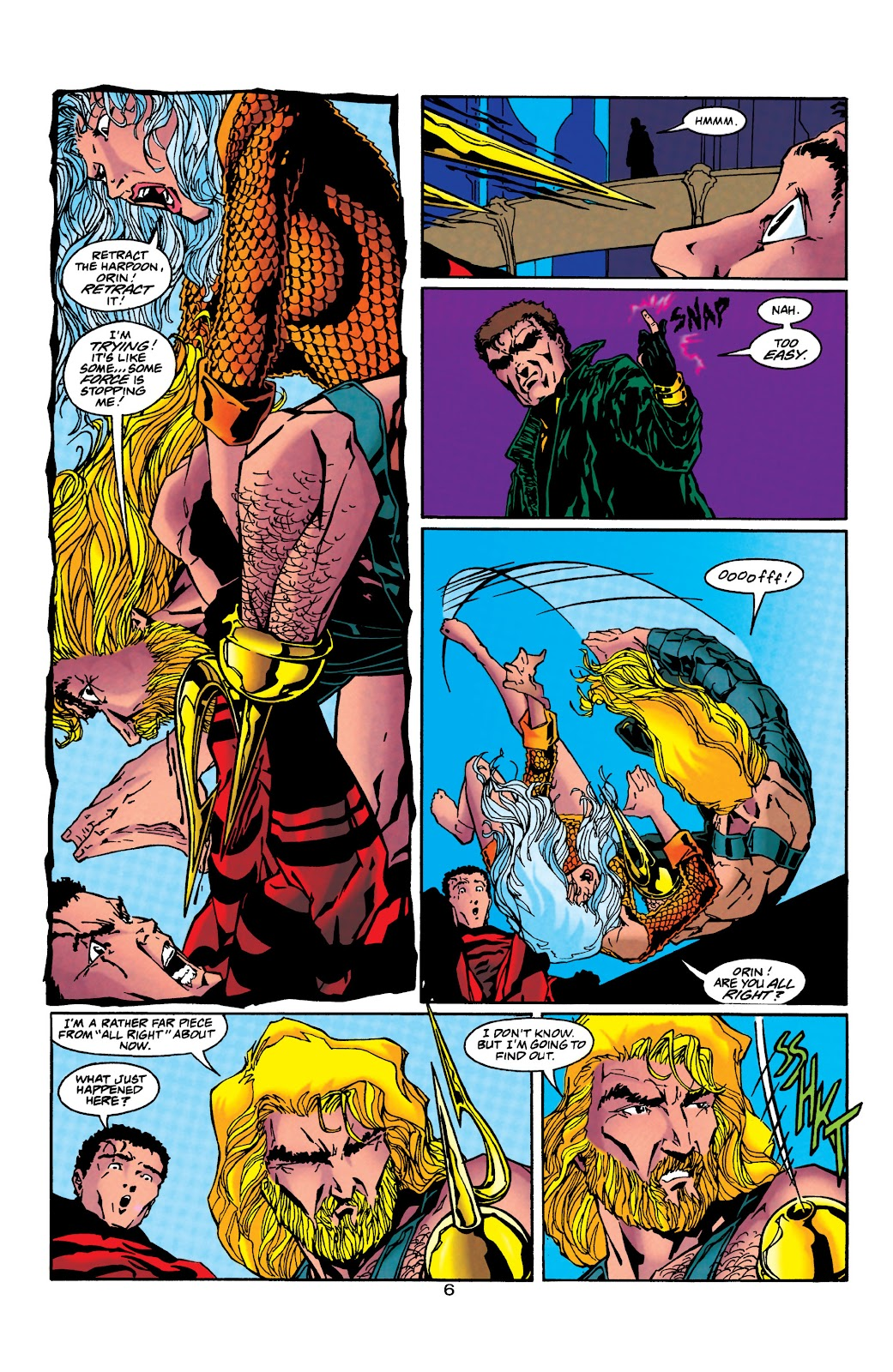 Aquaman (1994) Issue #40 #46 - English 7