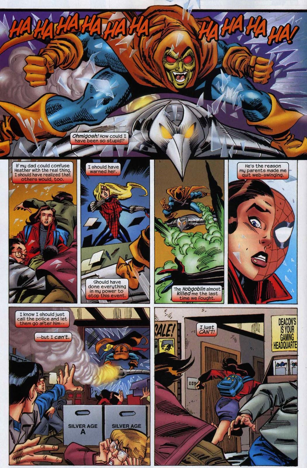 Amazing Spider-Girl Issue #6 #7 - English 12