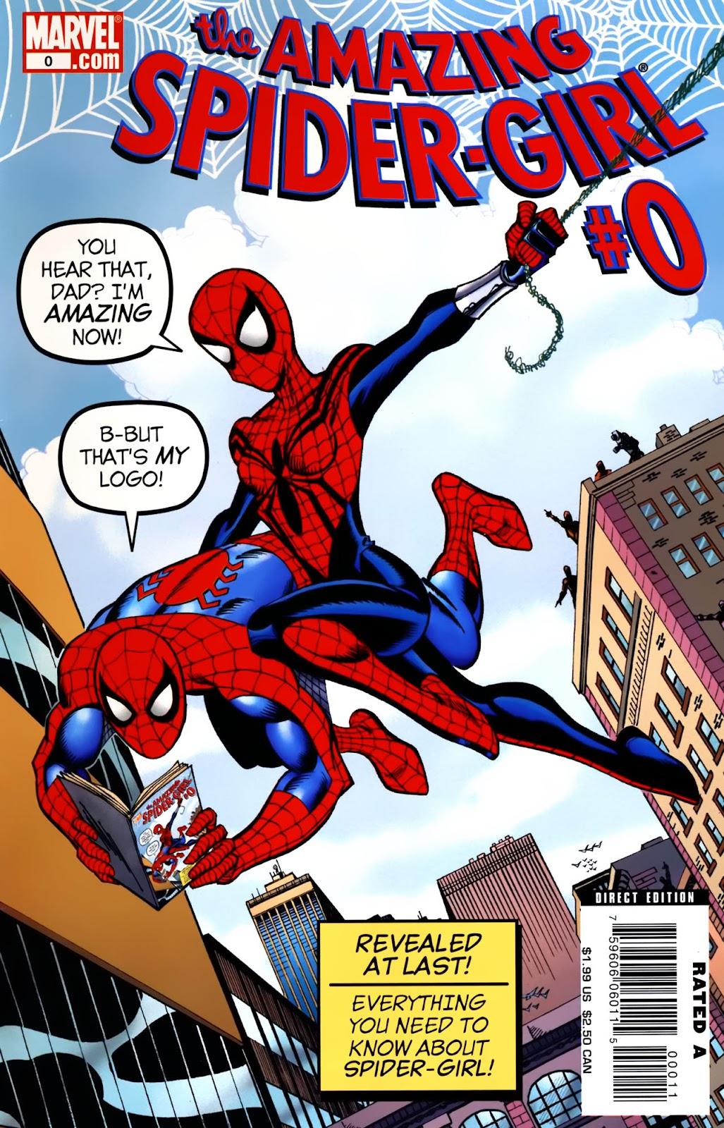 Amazing Spider-Girl Issue #0 #1 - English 1