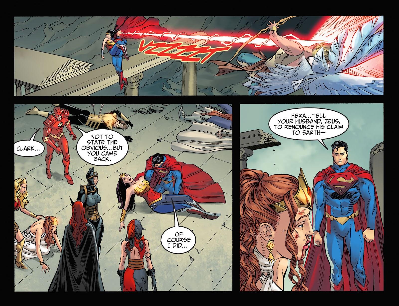 Injustice: Gods Among Us Year Four Issue #23 #24 - English 21