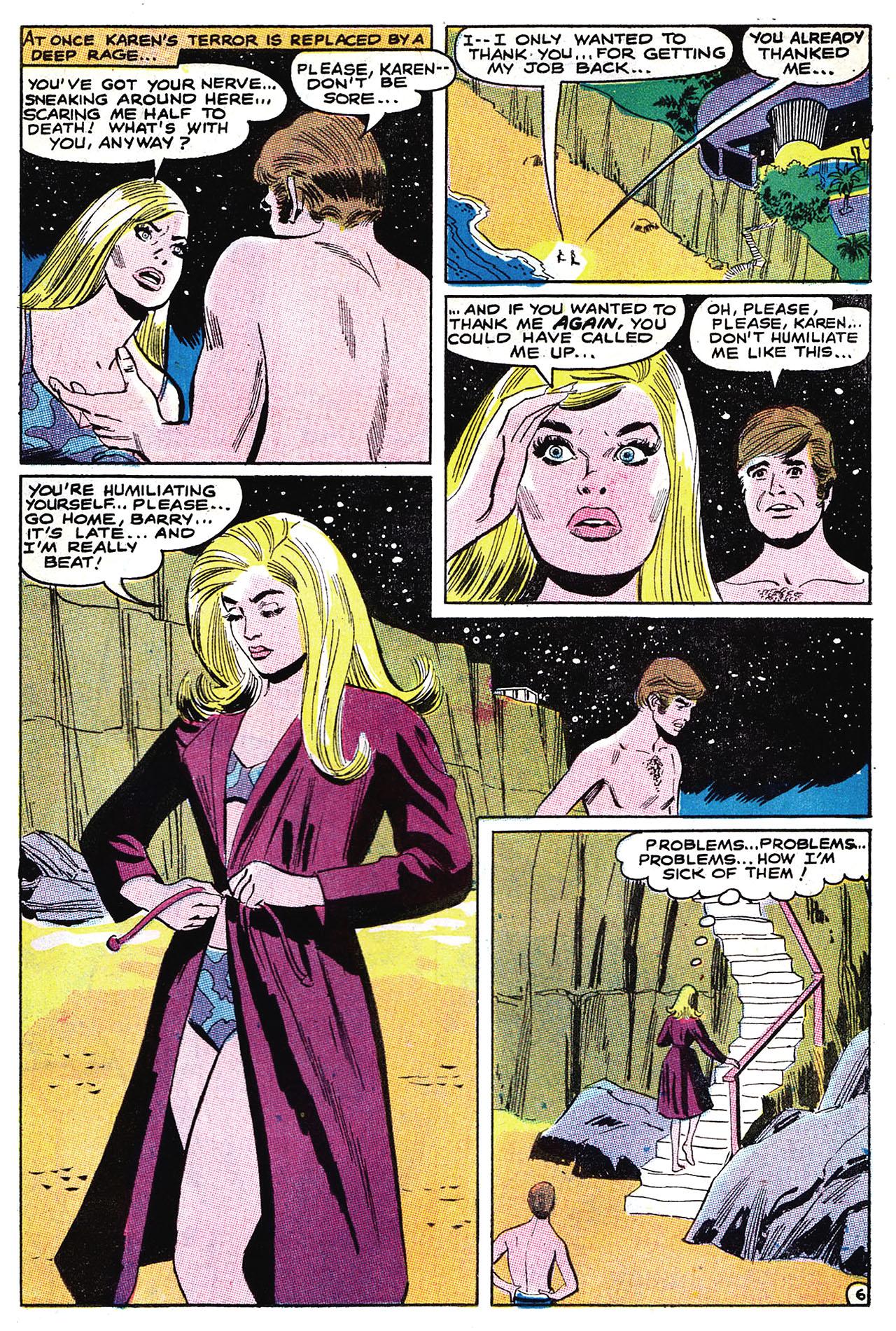 Read online Secret Hearts comic -  Issue #132 - 22