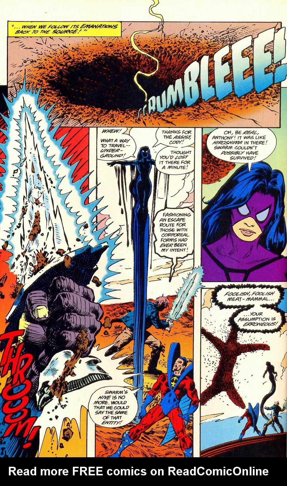 Read online Secret Defenders comic -  Issue #19 - 20