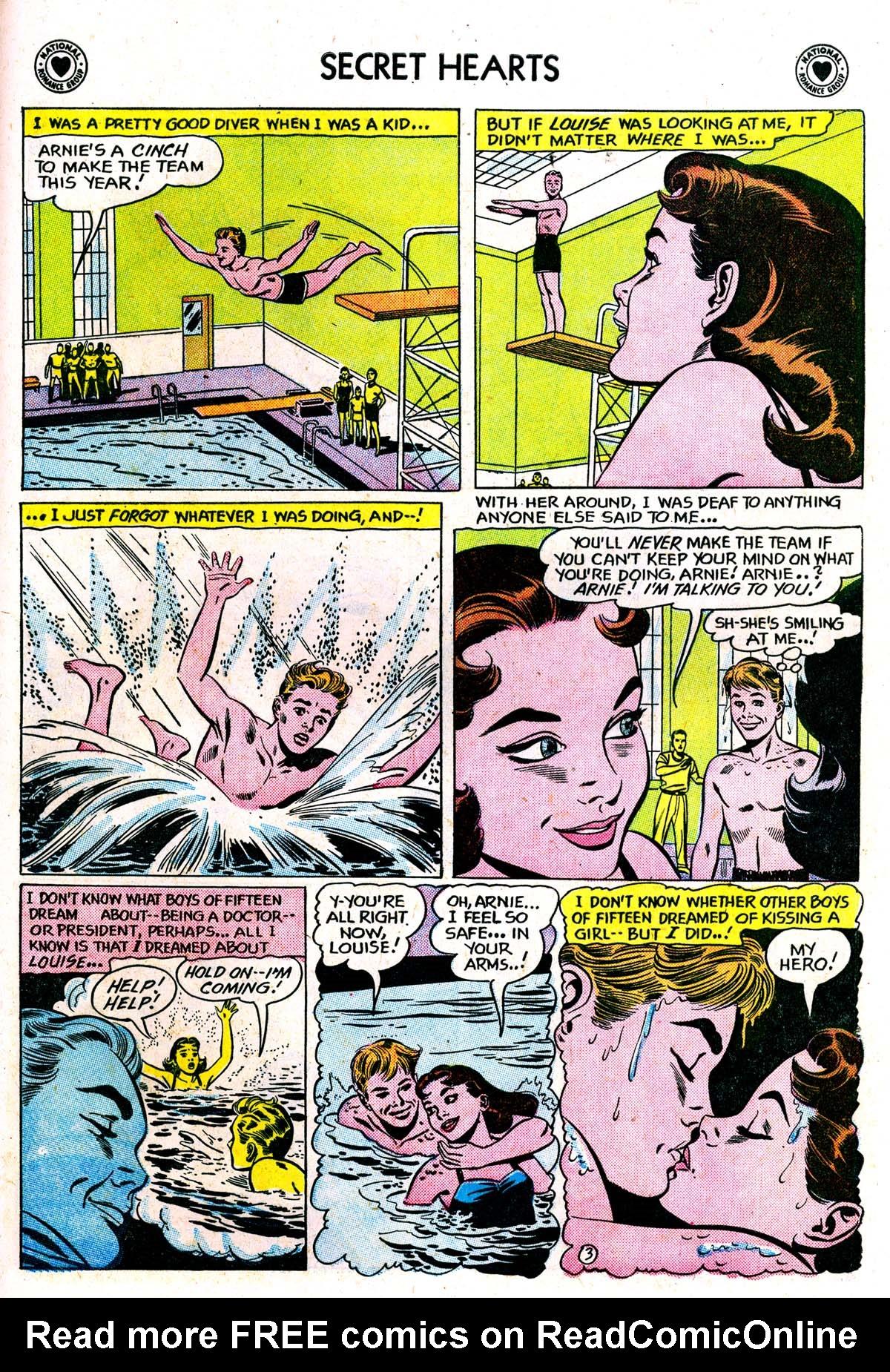 Read online Secret Hearts comic -  Issue #42 - 29