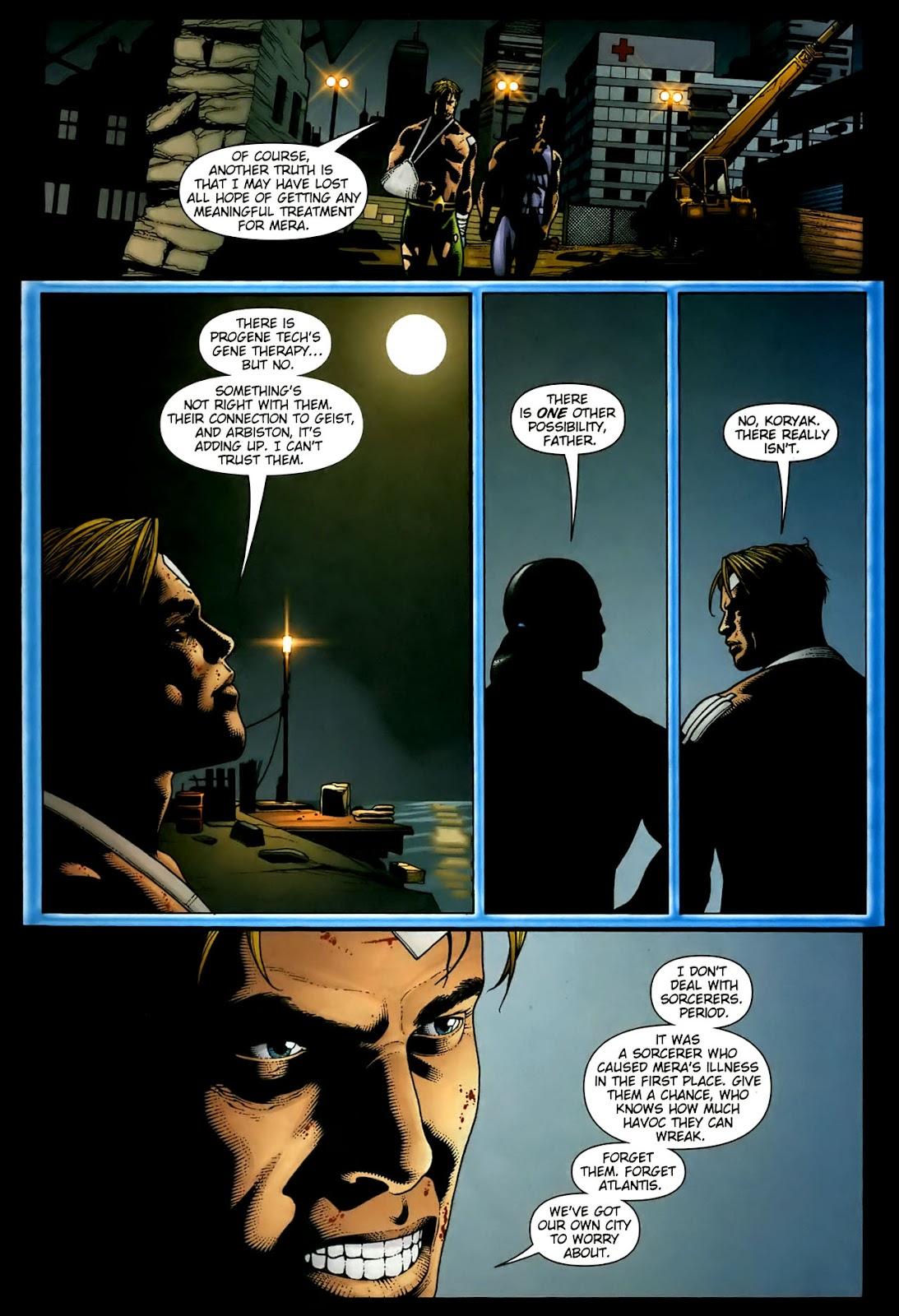 Aquaman (2003) Issue #36 #36 - English 15