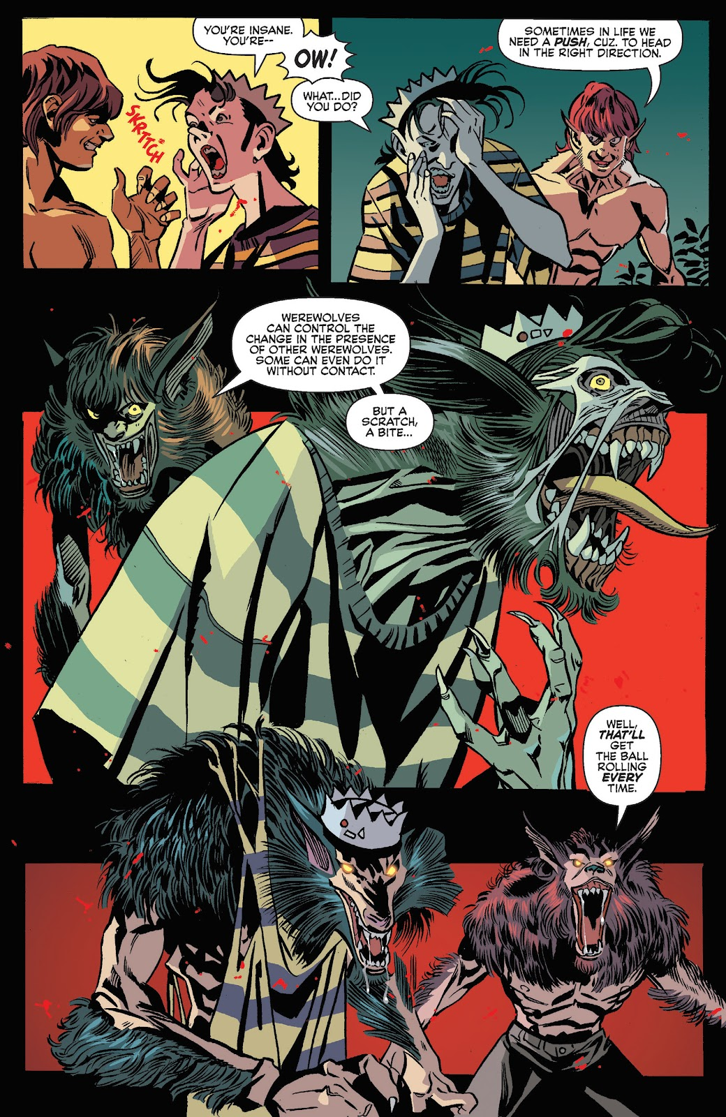 Jughead The Hunger Issue #3 #4 - English 8