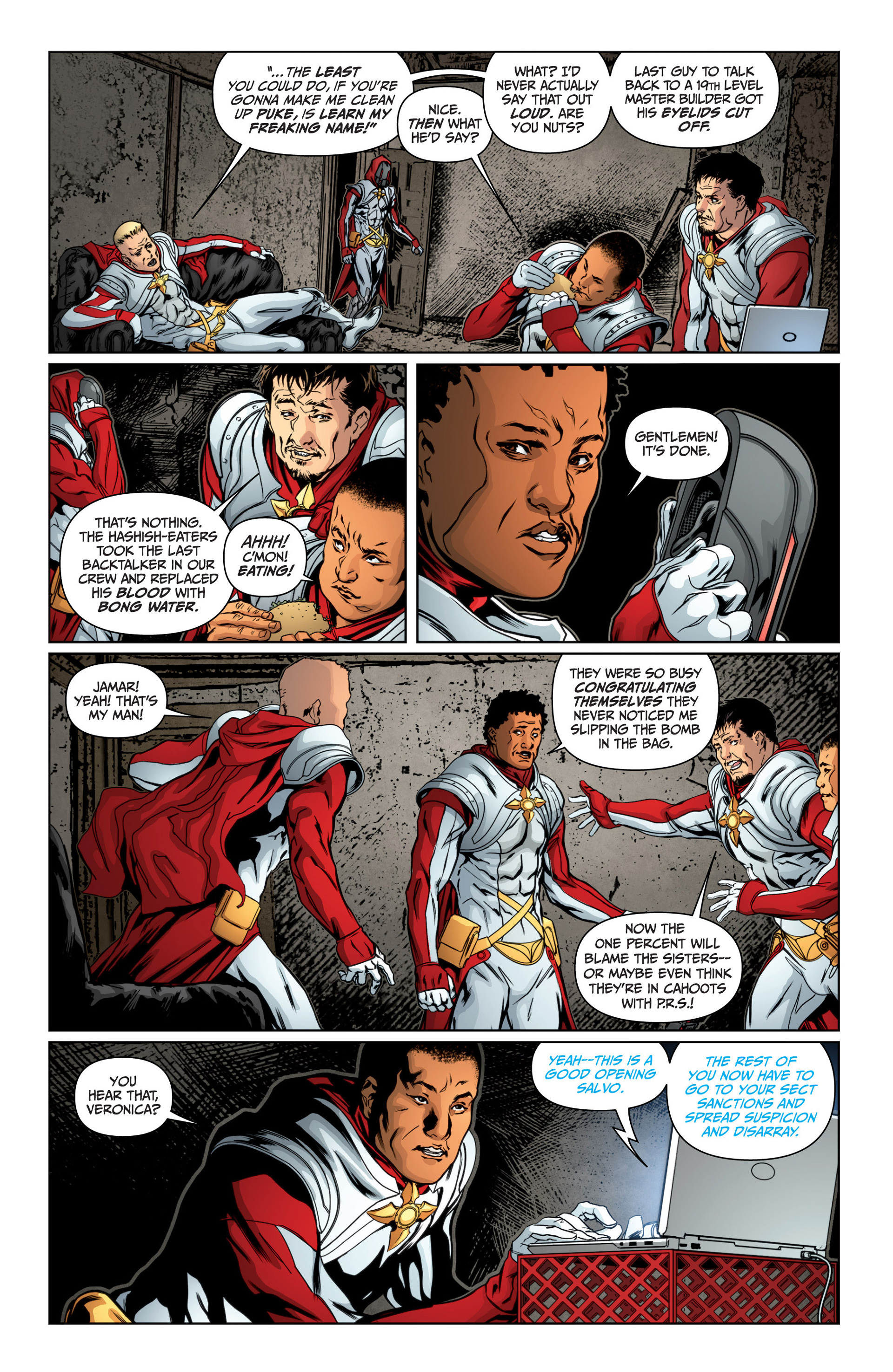 Archer and Armstrong 14 Page 22