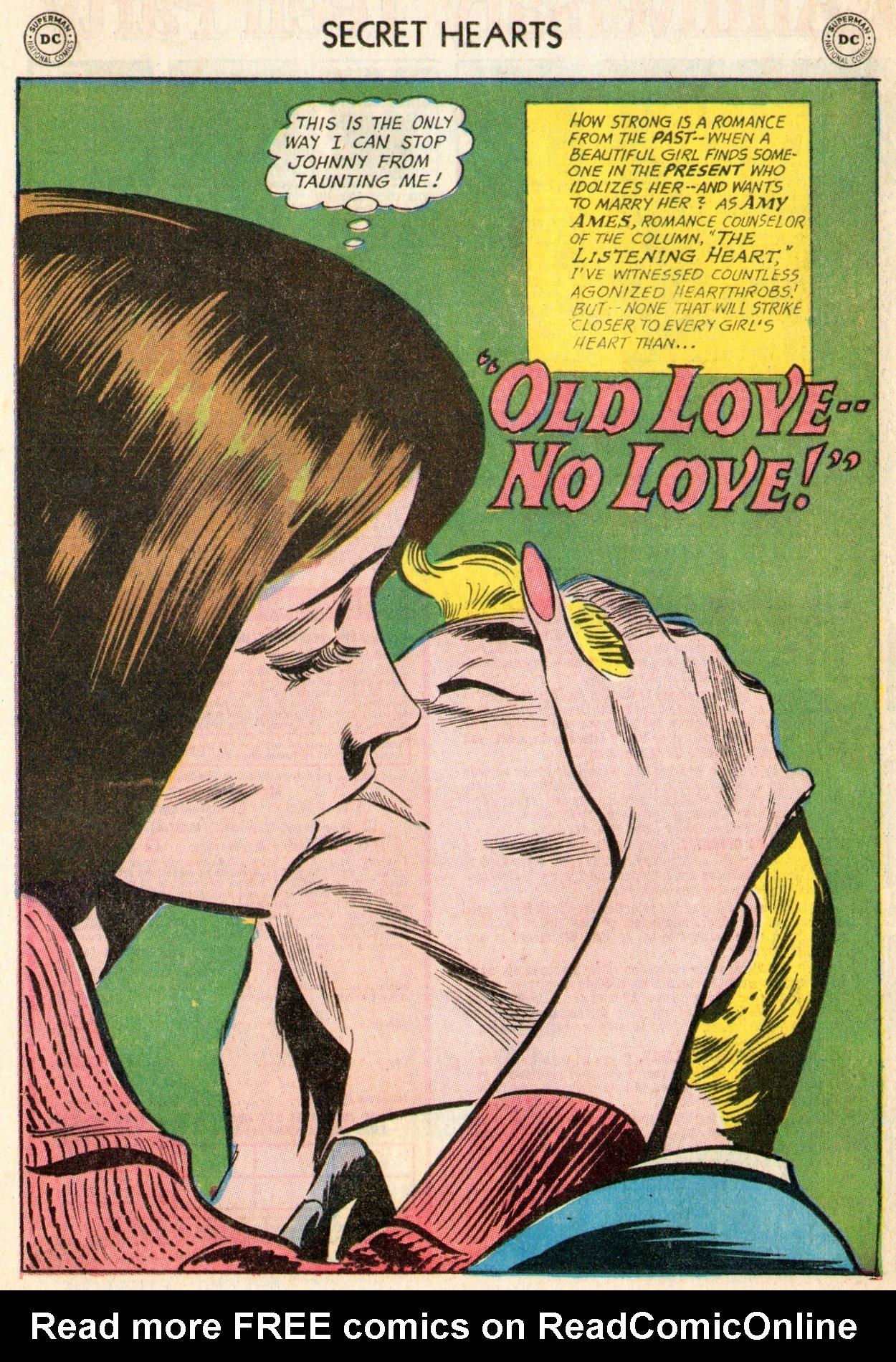 Read online Secret Hearts comic -  Issue #103 - 19