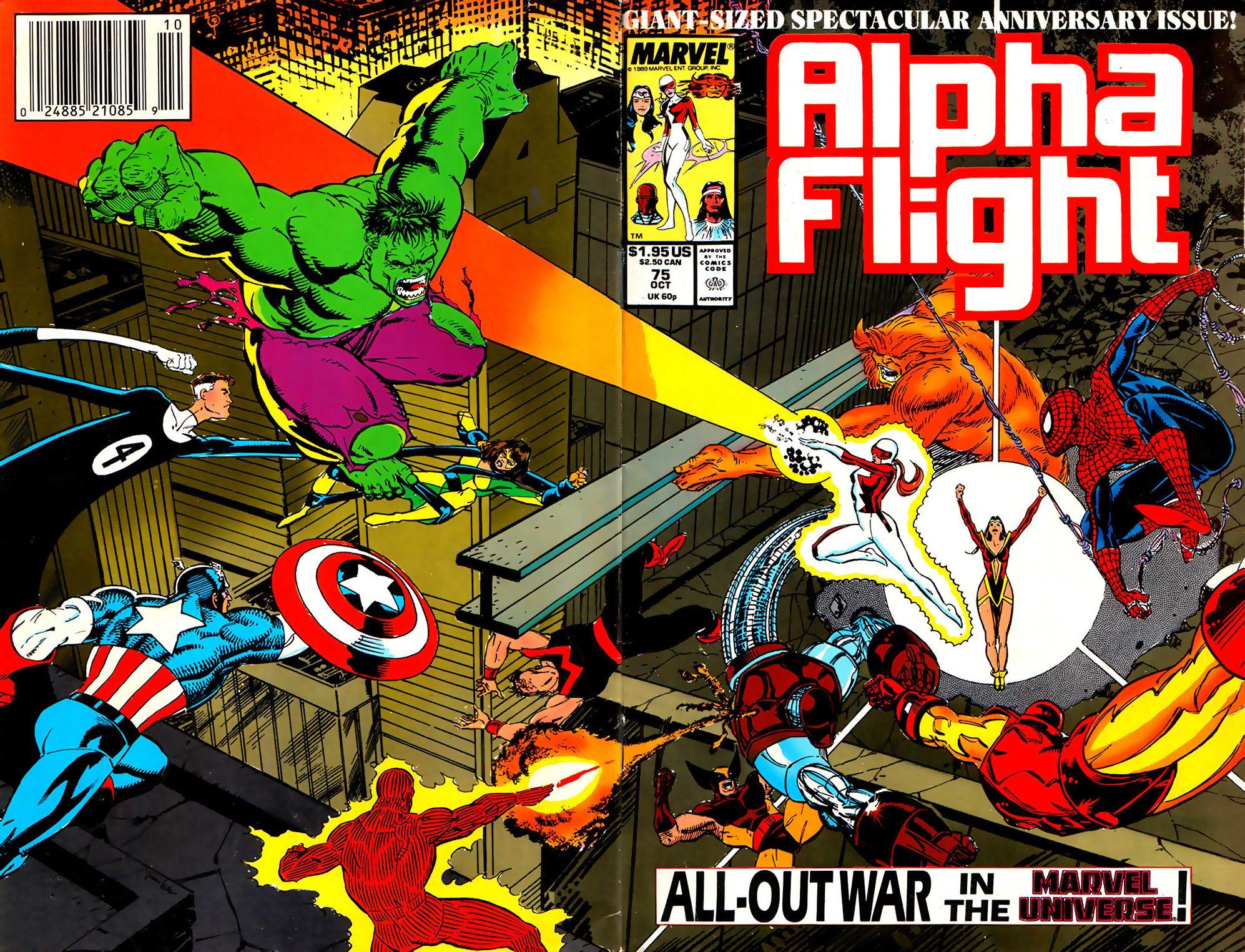Alpha Flight (1983) 75 Page 1