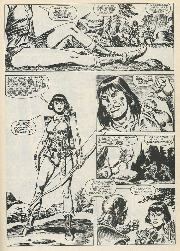 The Savage Sword Of Conan Issue #141 #142 - English 27