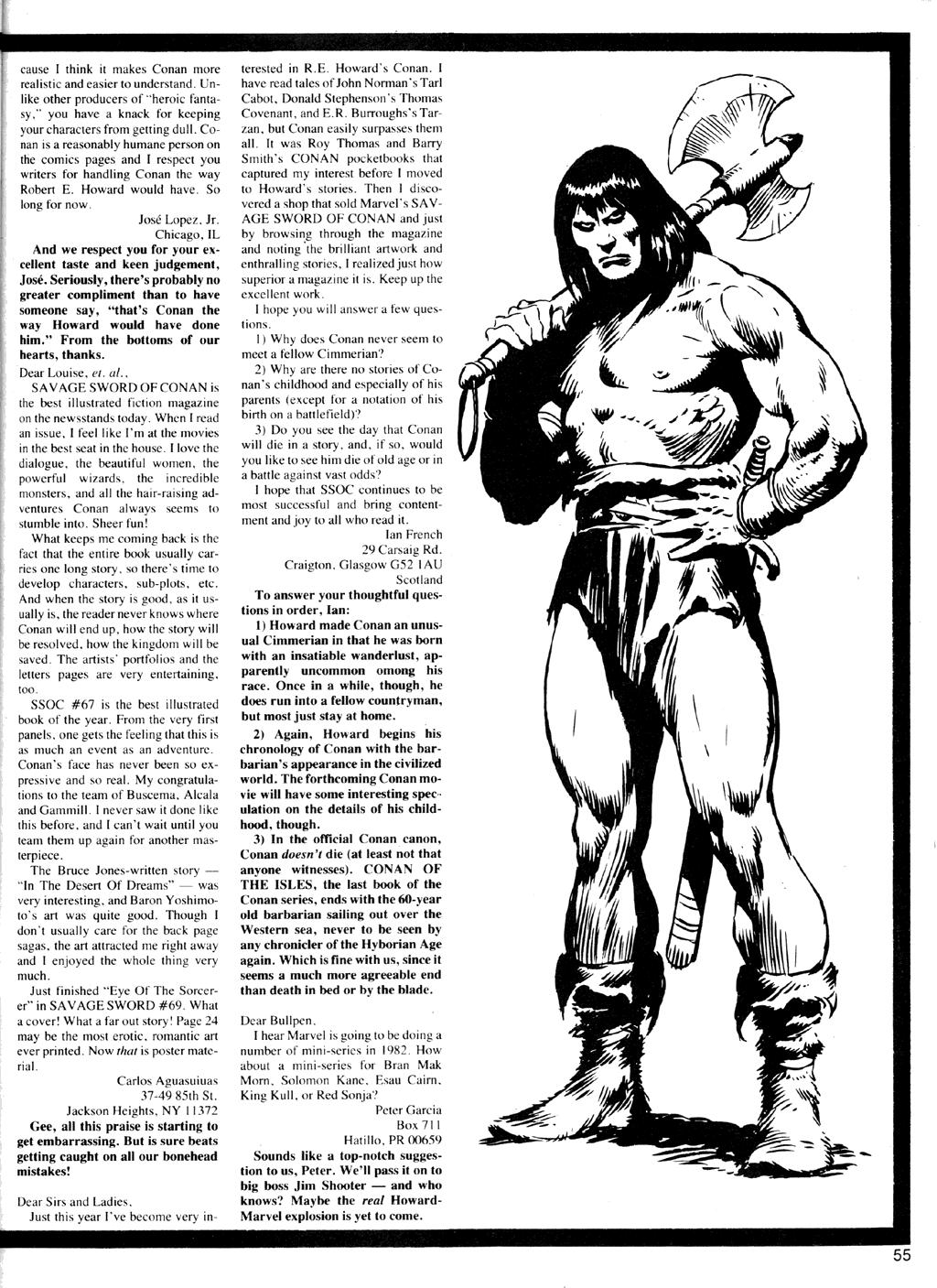 Of Conan  #164 - English 55