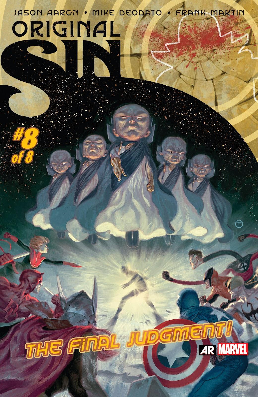 Original Sin Issue #8 #27 - English 1