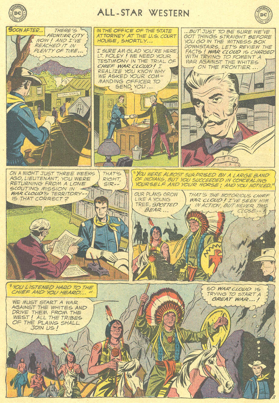 Read online All-Star Western (1951) comic -  Issue #105 - 18