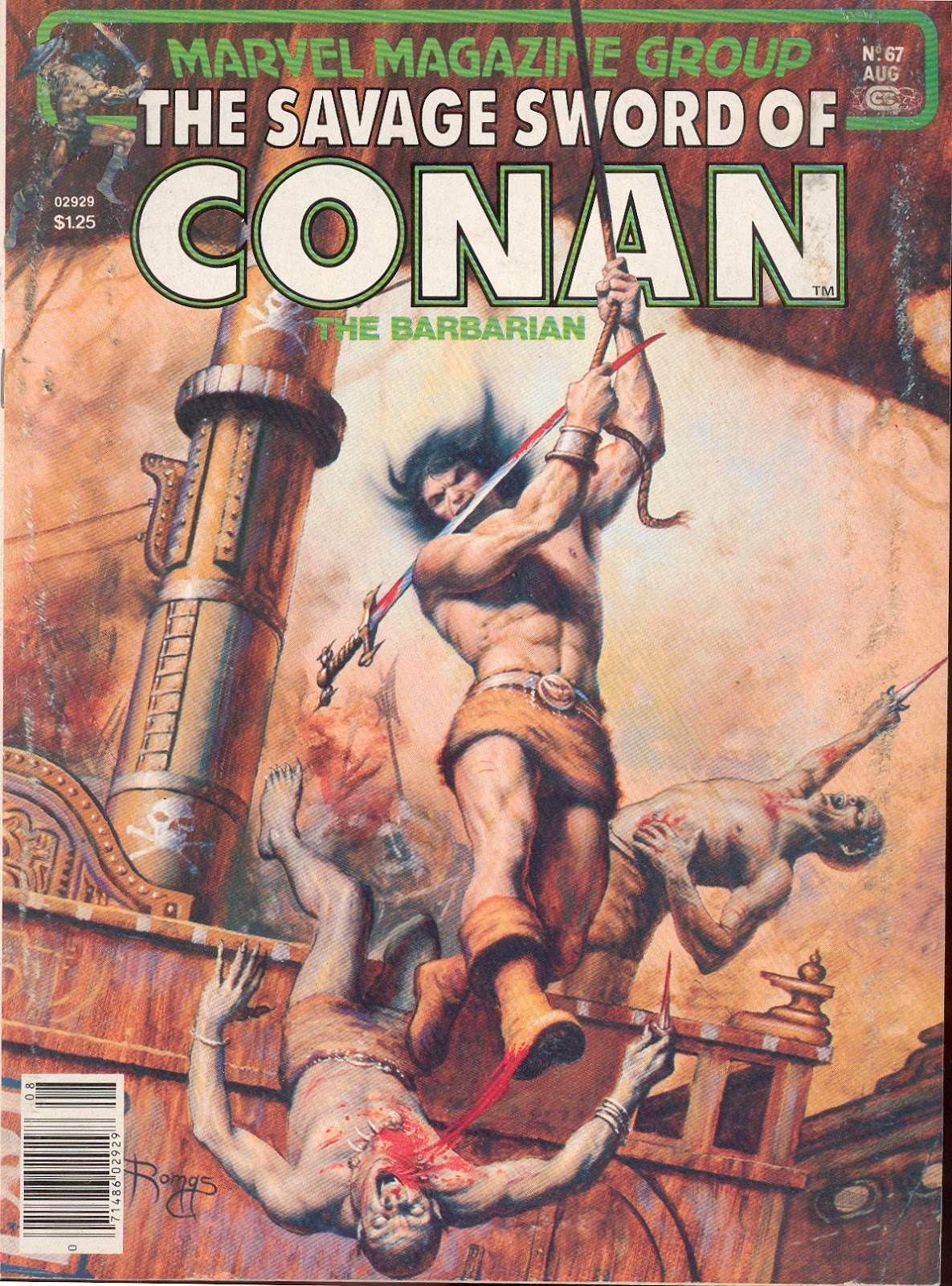 The Savage Sword Of Conan Issue #67 #68 - English 1