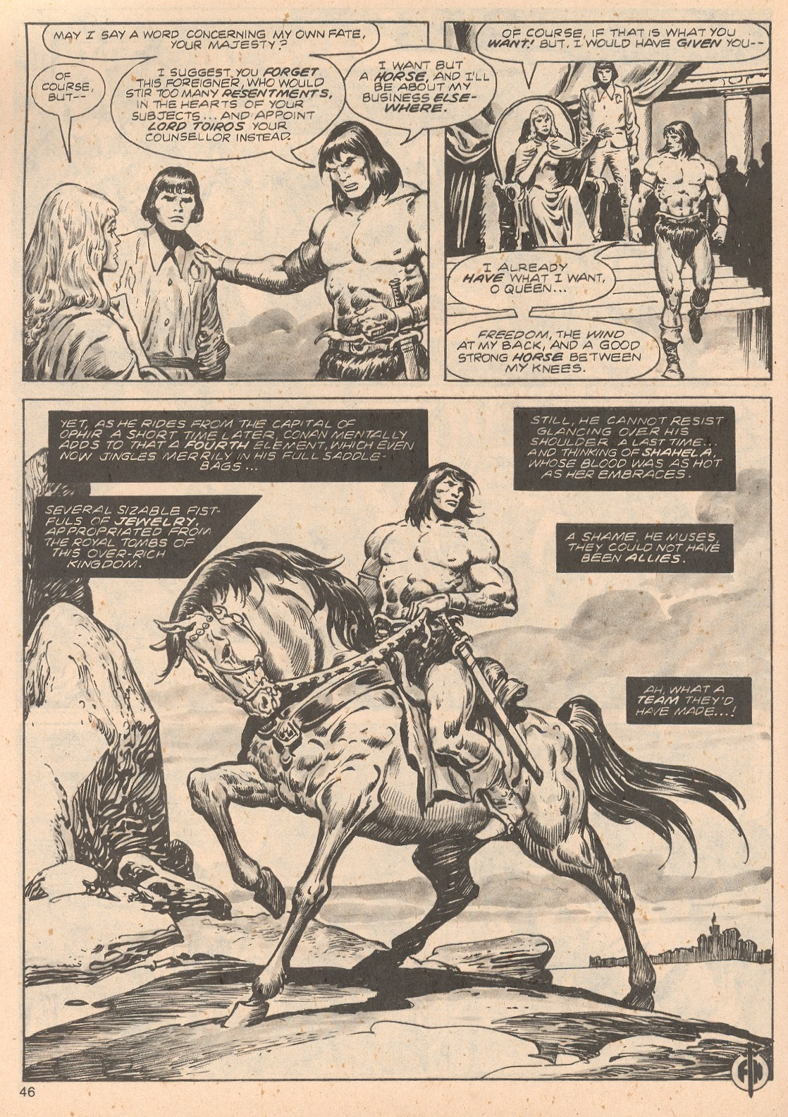 The Savage Sword Of Conan Issue #68 #69 - English 46