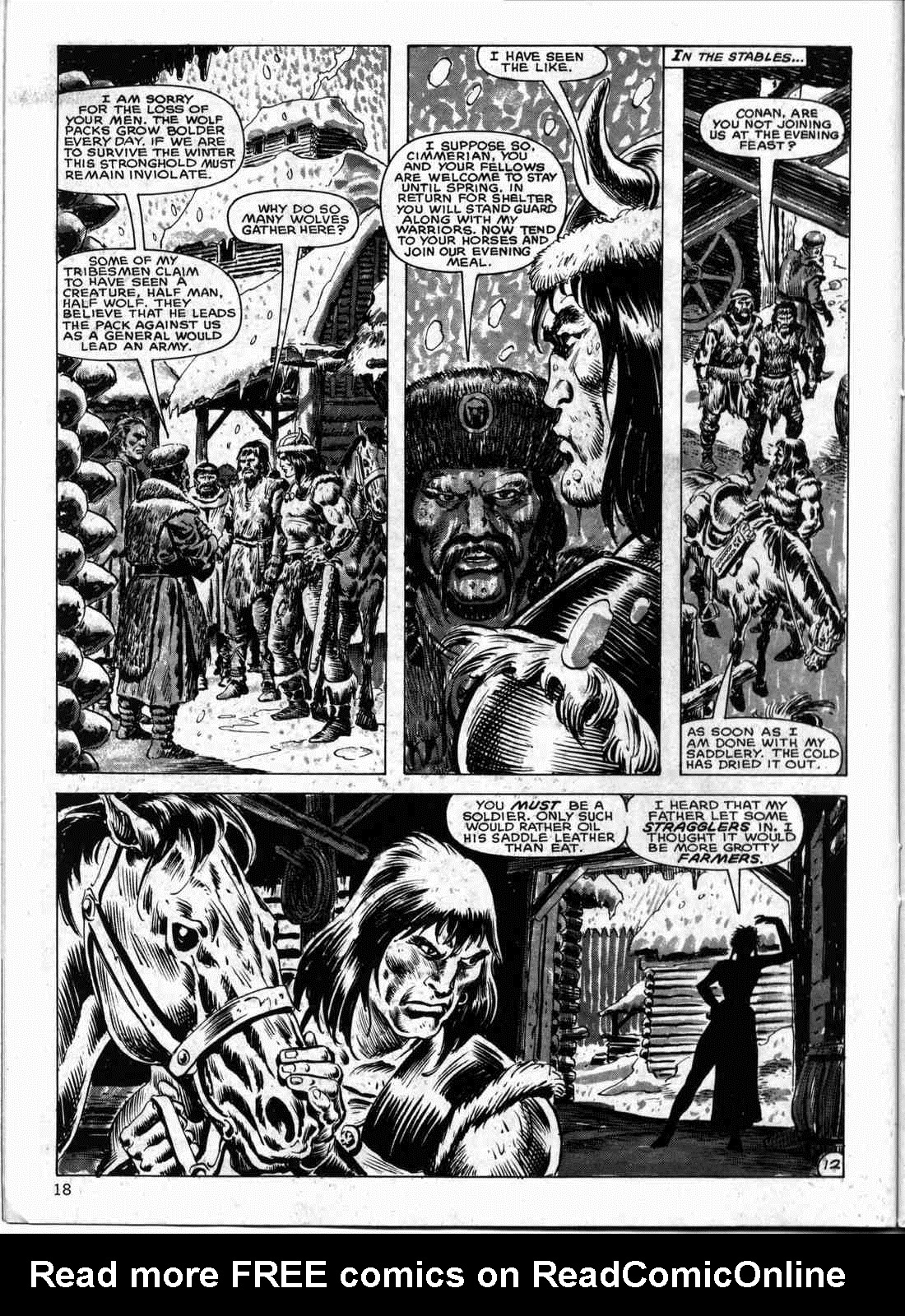The Savage Sword Of Conan Issue #133 #134 - English 17