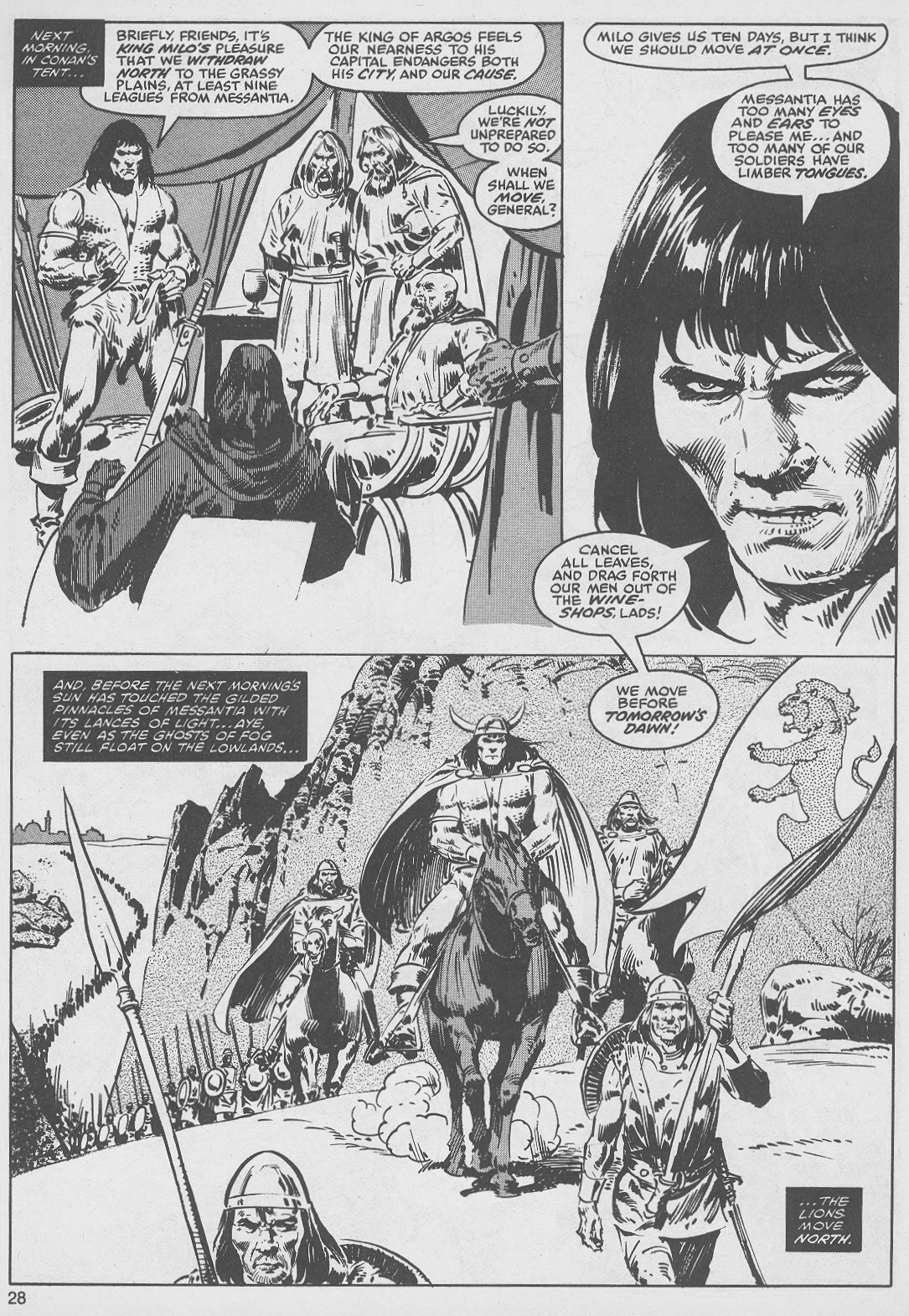 The Savage Sword Of Conan Issue #49 #50 - English 28