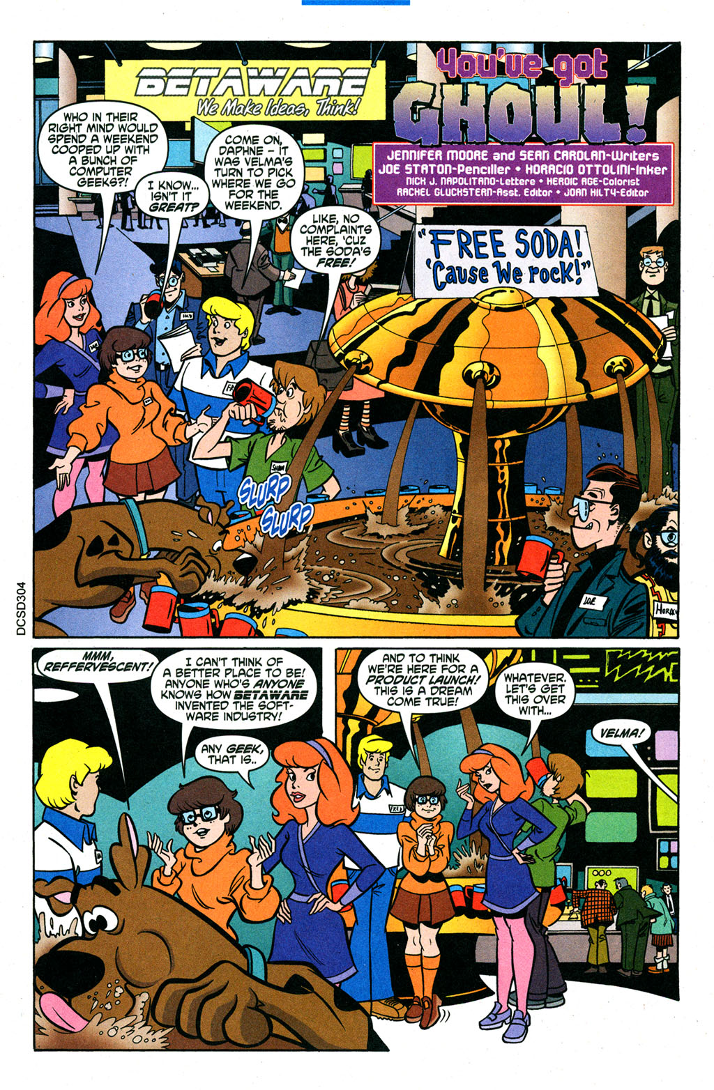 Read online Scooby-Doo (1997) comic -  Issue #95 - 2