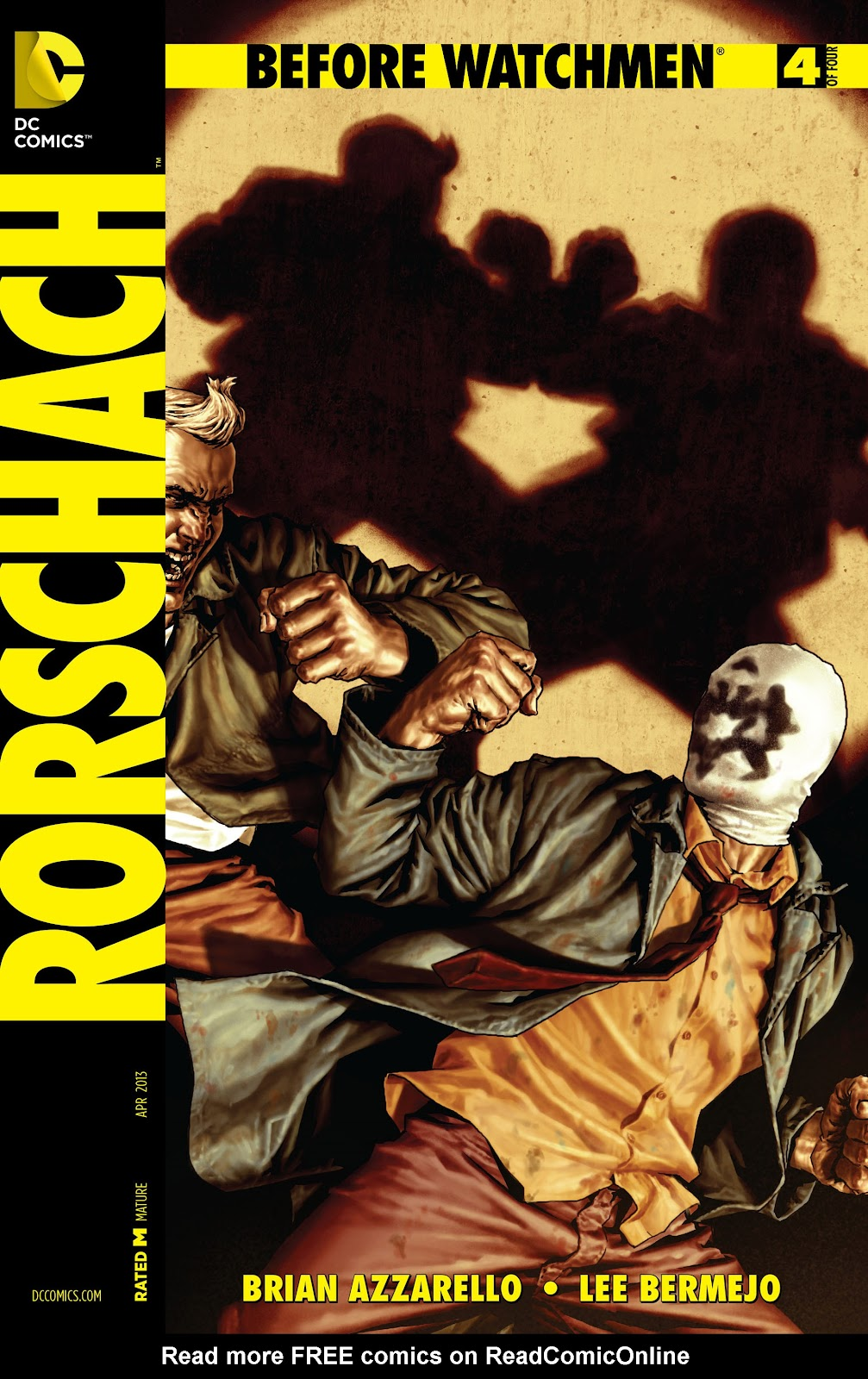 Before Watchmen: Rorschach issue 4 - Page 1
