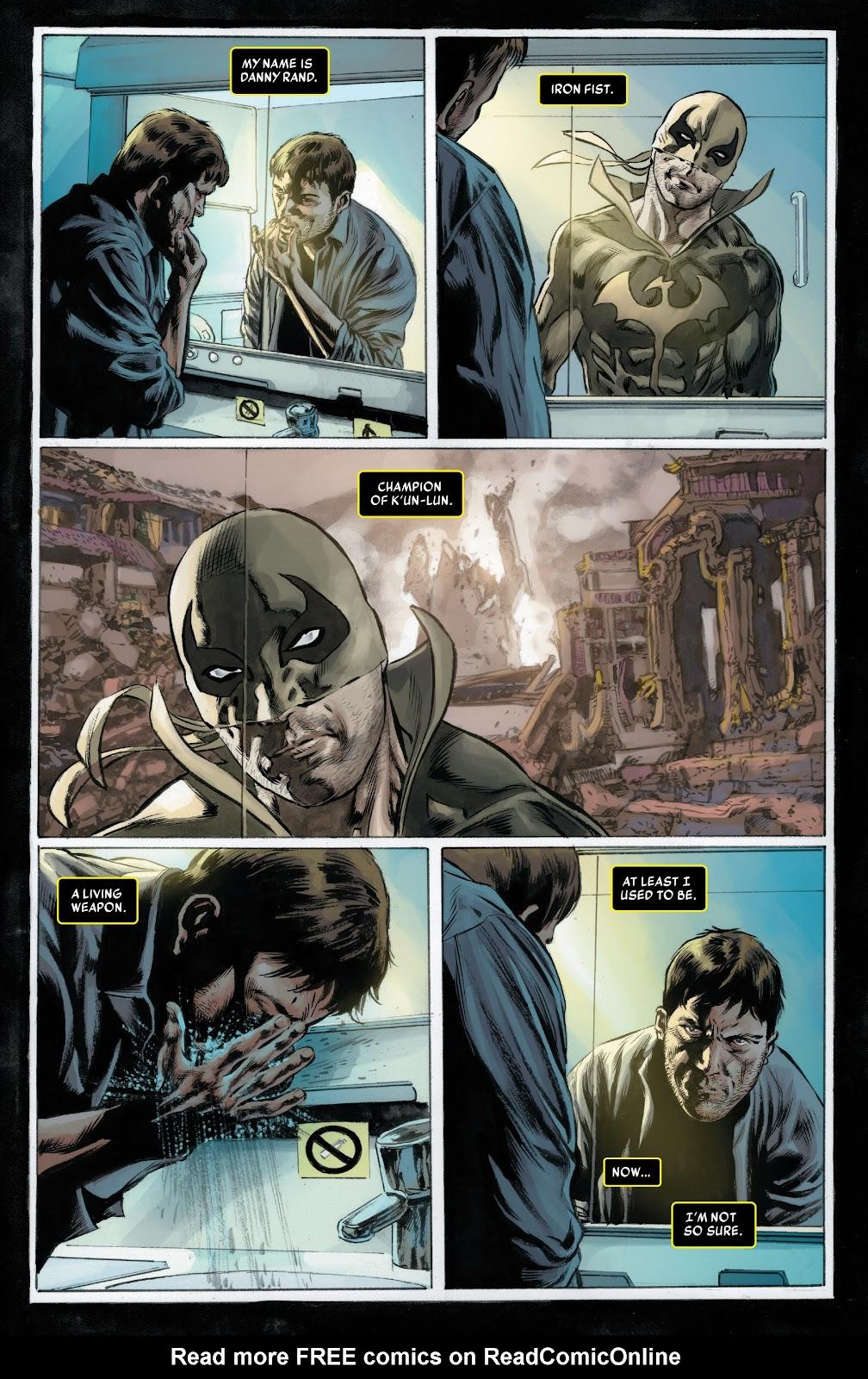 Iron Fist (2017) Issue #1 #1 - English 10
