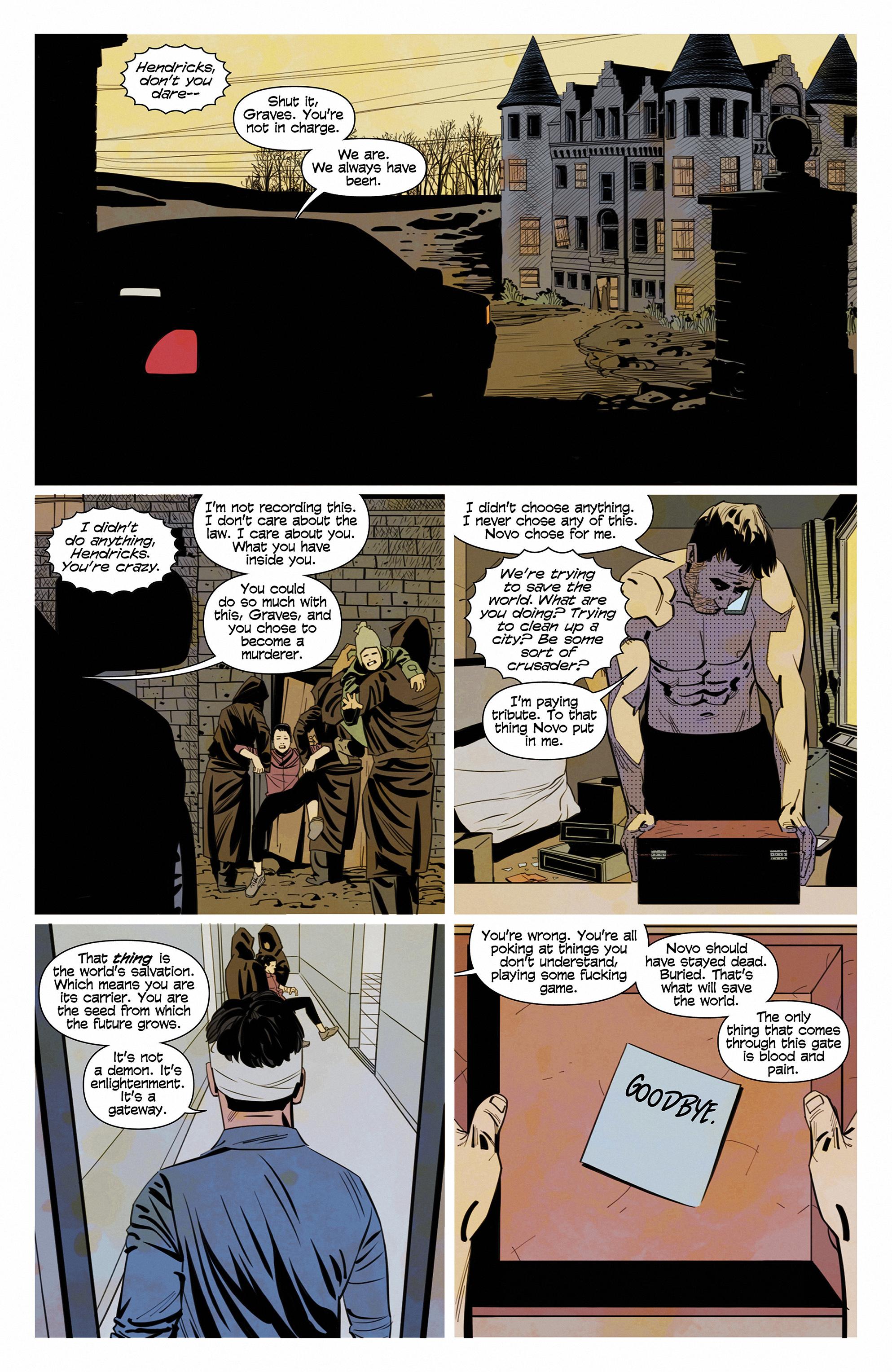 Read online Demonic comic -  Issue #6 - 10