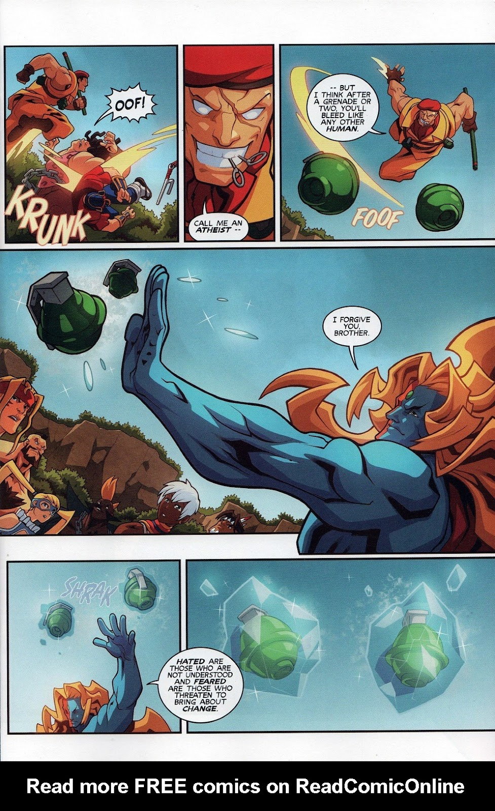 Street Fighter Unlimited Issue #7 #9 - English 7