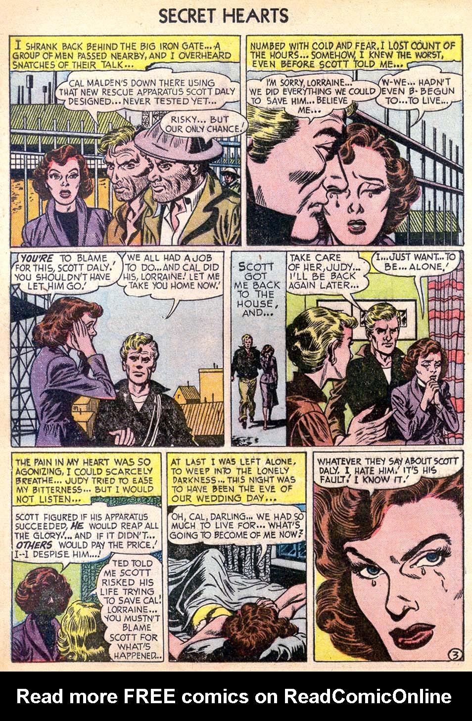 Read online Secret Hearts comic -  Issue #11 - 12