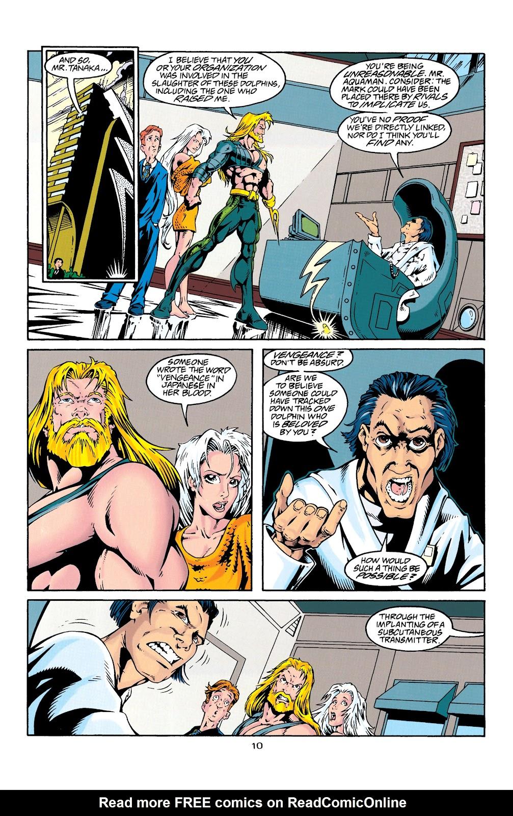 Aquaman (1994) Issue #27 #33 - English 11