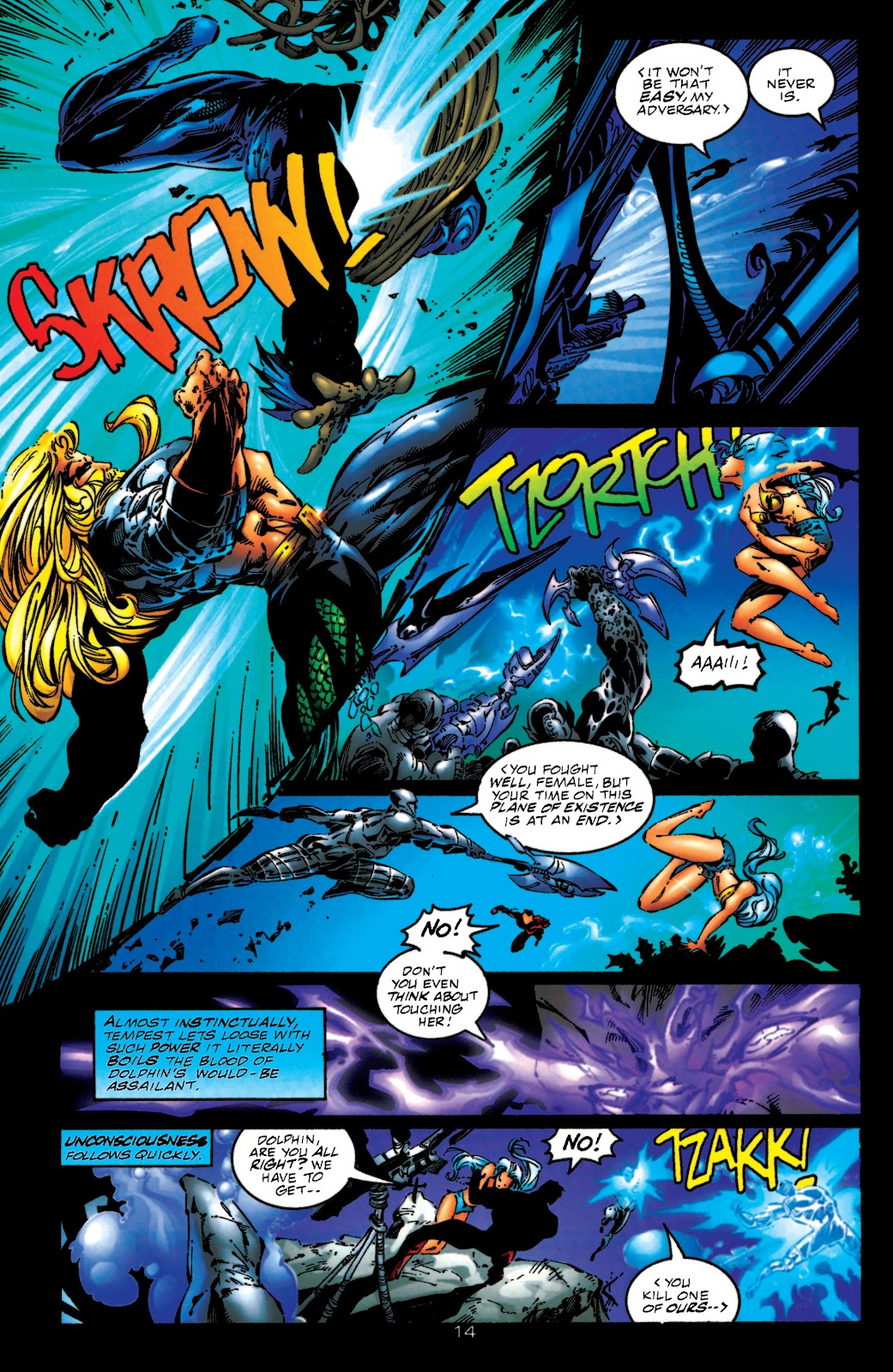 Aquaman (1994) Issue #51 #57 - English 14