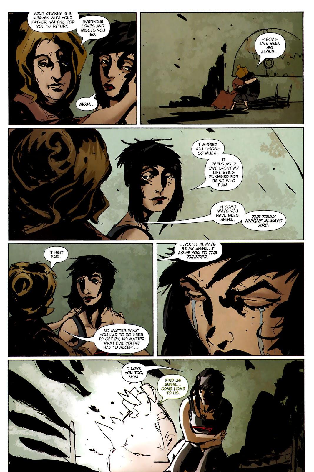 Strange Girl Issue #15 #16 - English 22