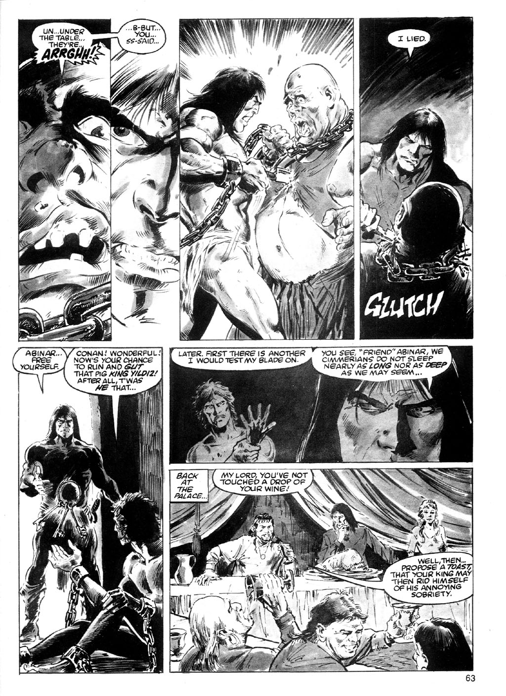 The Savage Sword Of Conan Issue #91 #92 - English 59