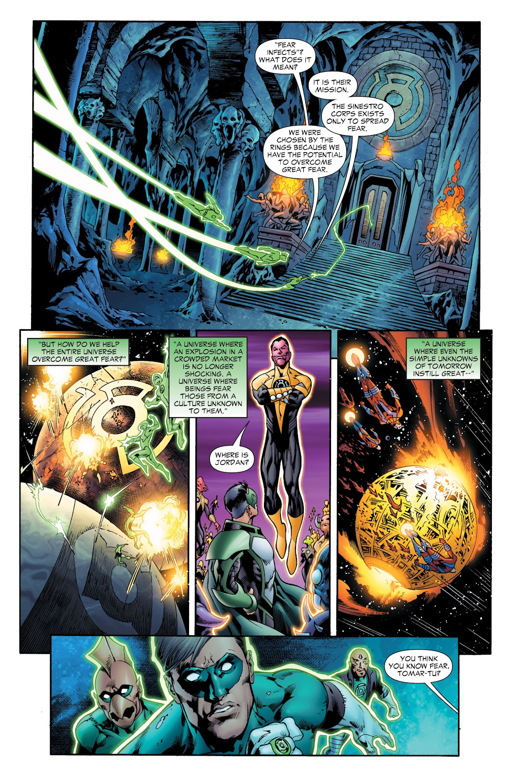 Green Lantern: The Sinestro Corps War Full #1 - English 110