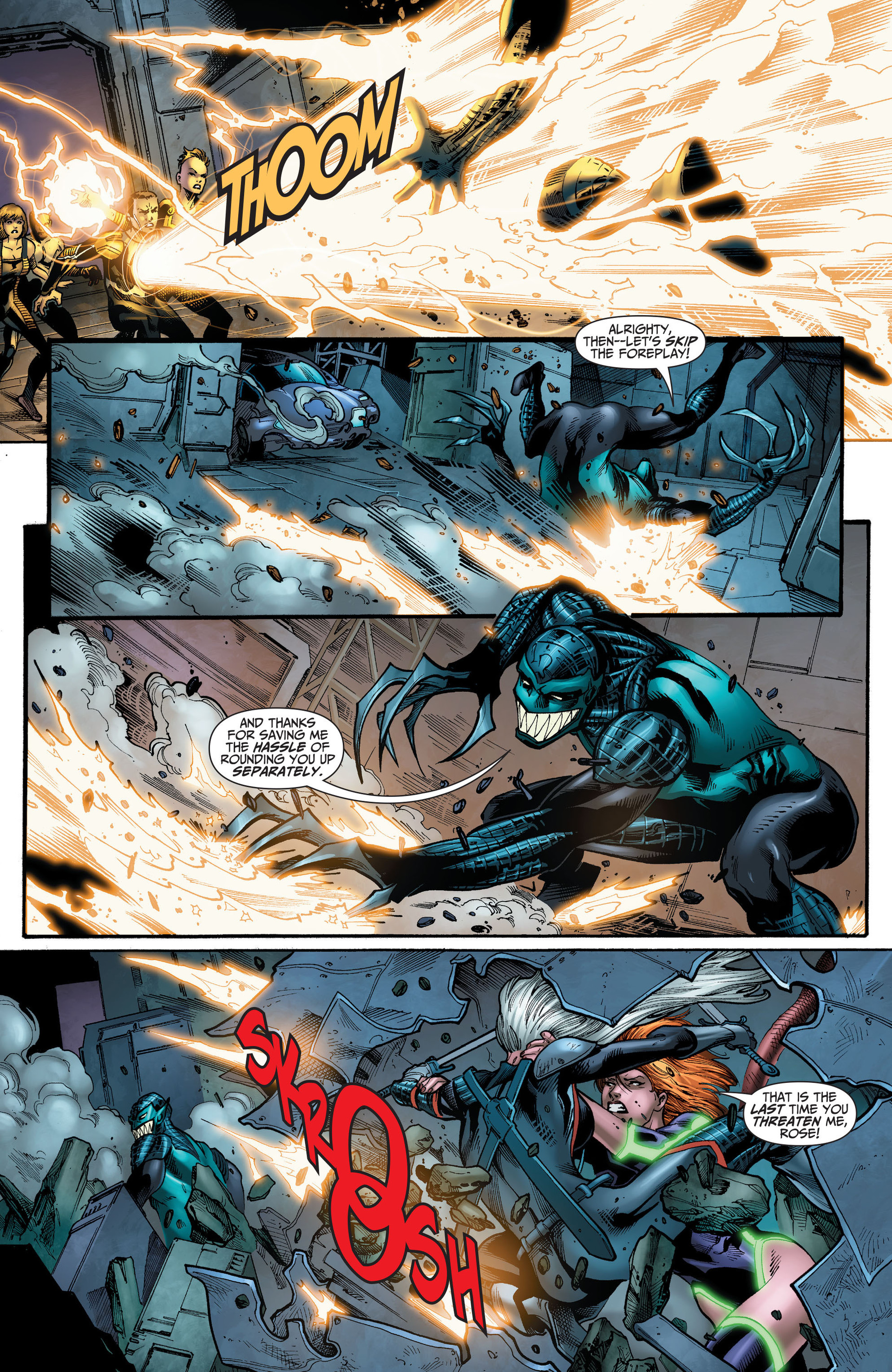 Read online The Ravagers comic -  Issue #11 - 8