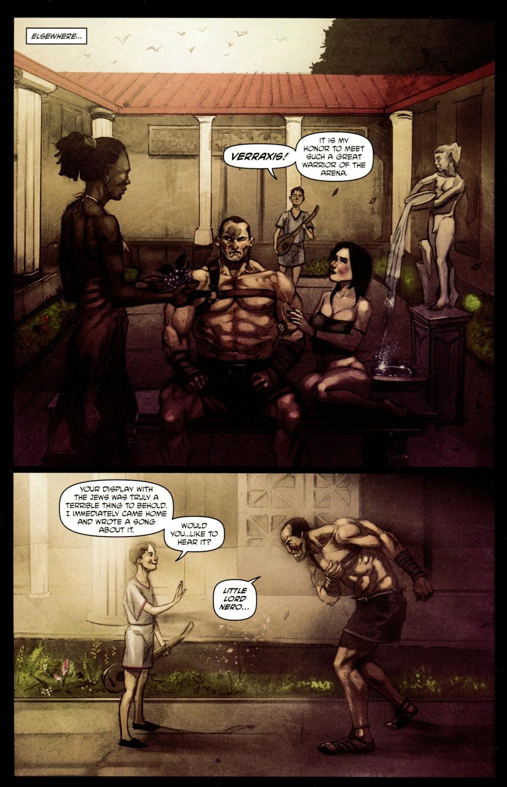 Caligula: Heart of Rome Issue #4 #4 - English 8