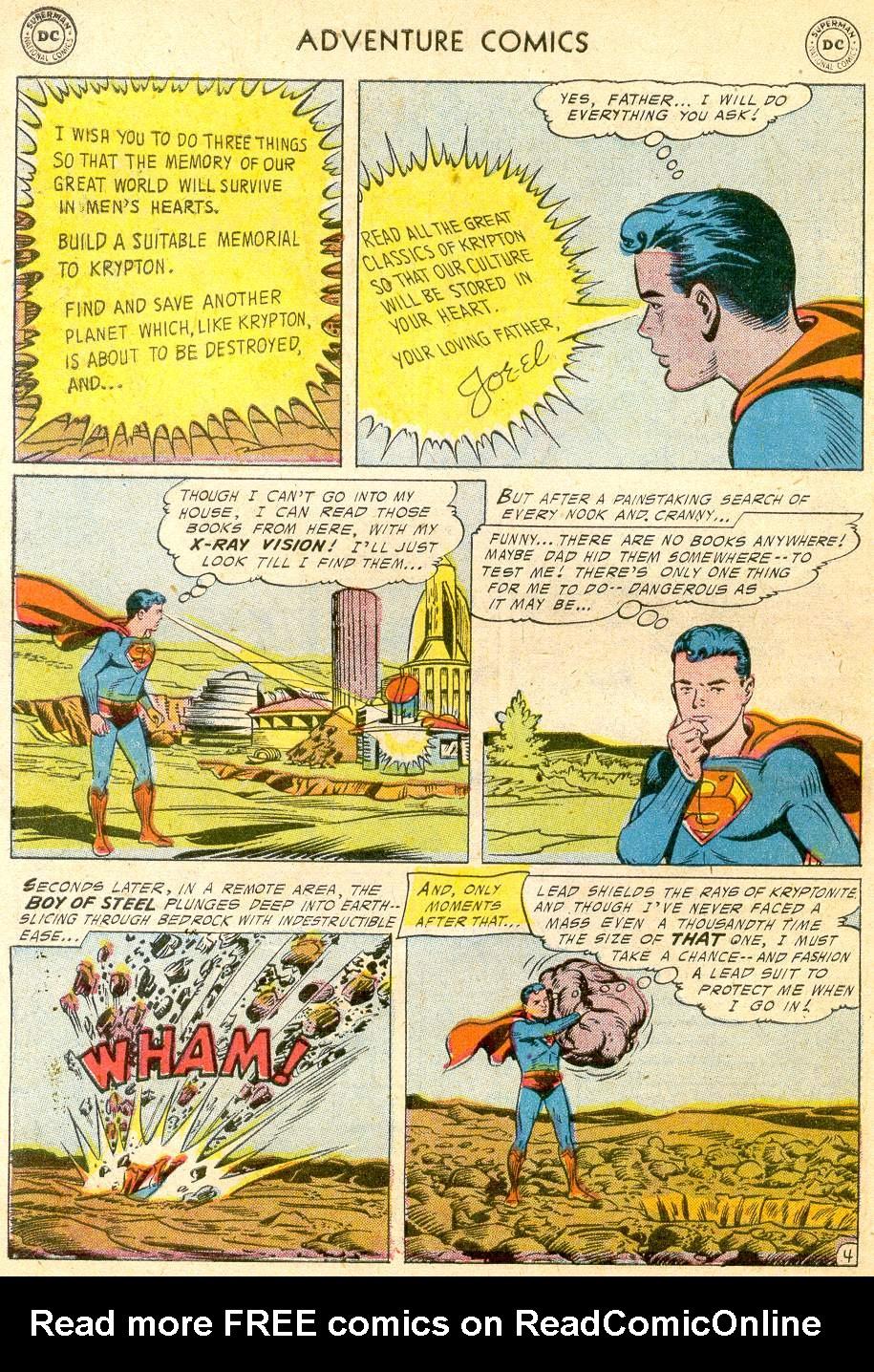Read online Adventure Comics (1938) comic -  Issue #232 - 6