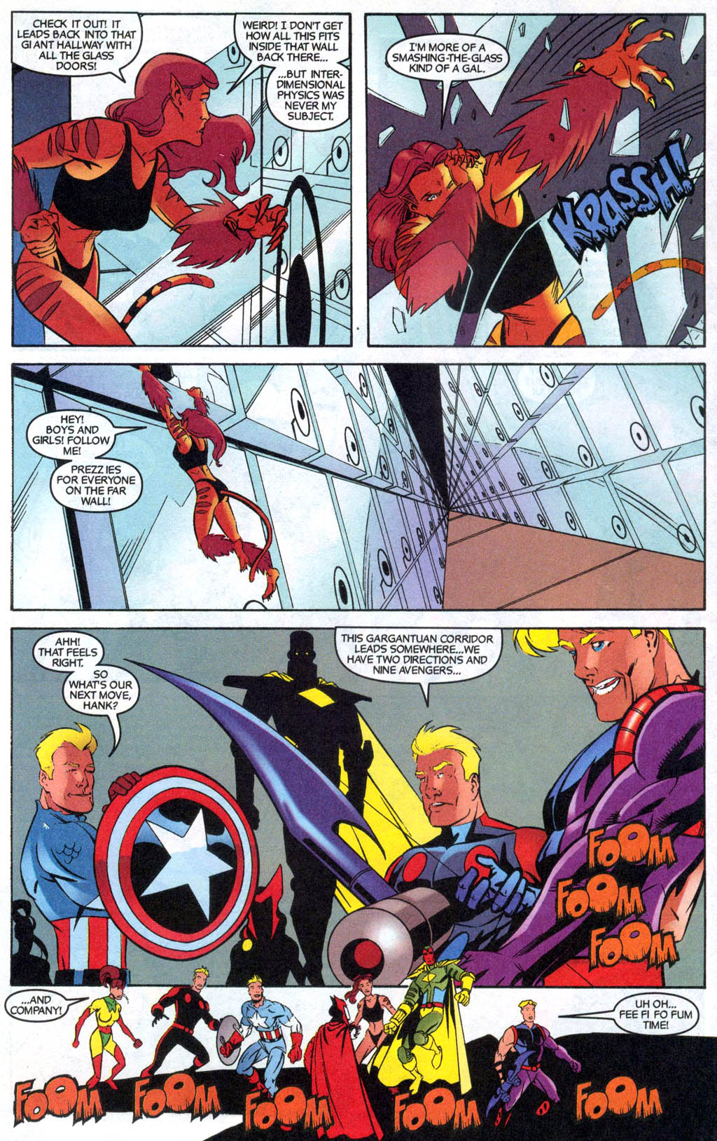 Read online Avengers United They Stand comic -  Issue #7 - 18