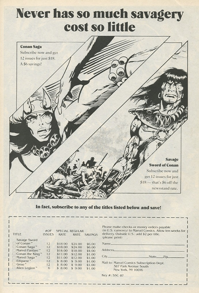 The Savage Sword Of Conan Issue #141 #142 - English 57