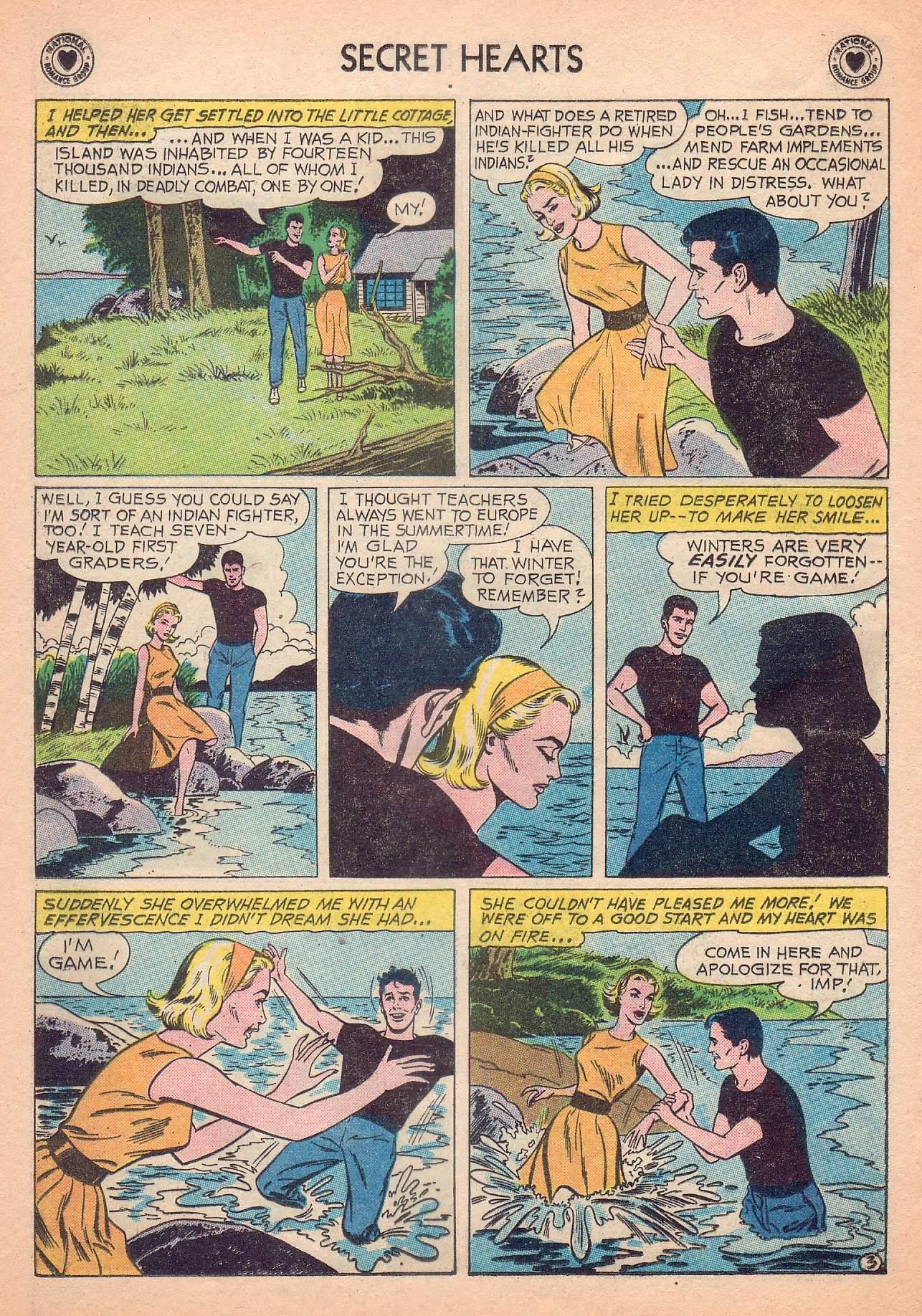 Read online Secret Hearts comic -  Issue #63 - 12