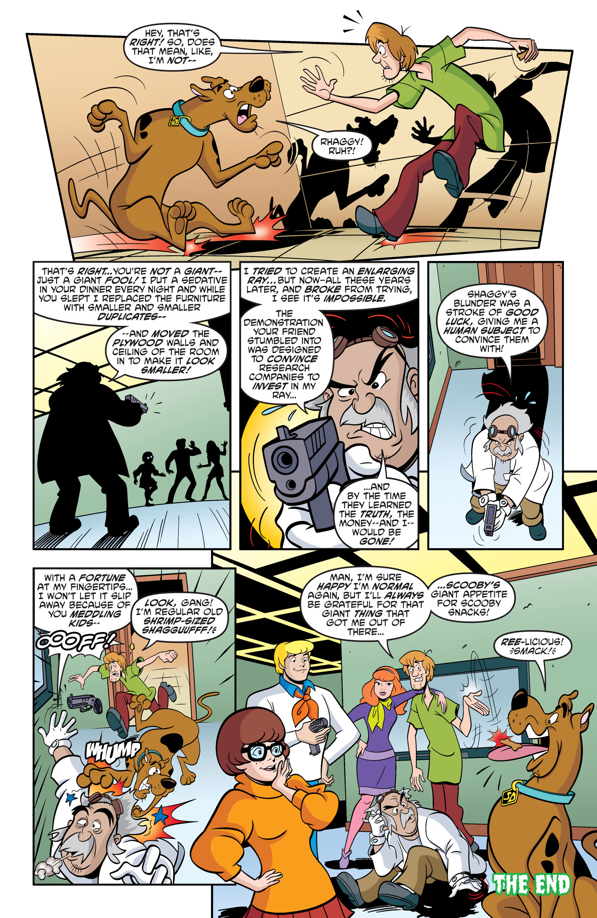 Read online Scooby-Doo: Where Are You? comic -  Issue #49 - 21