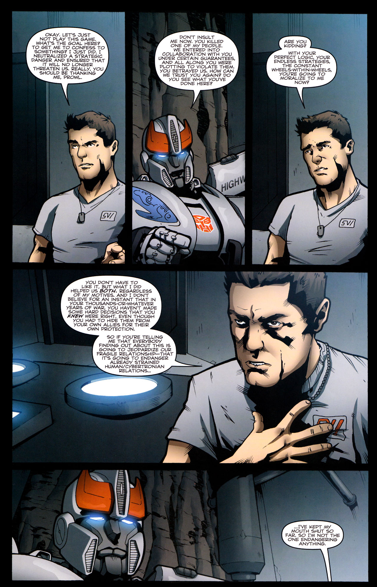 Read online The Transformers (2009) comic -  Issue #29 - 7