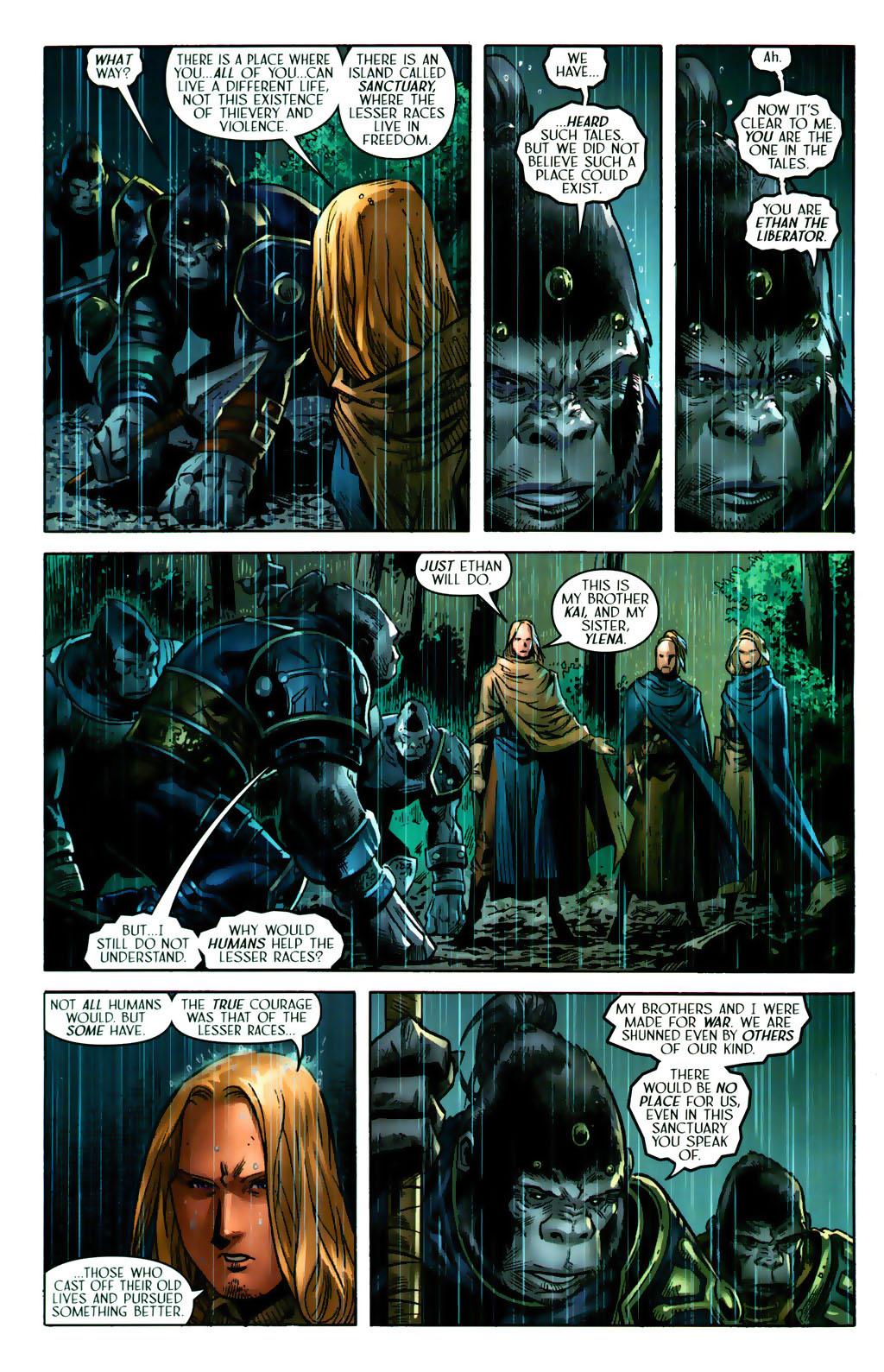 Read online Scion comic -  Issue #38 - 7