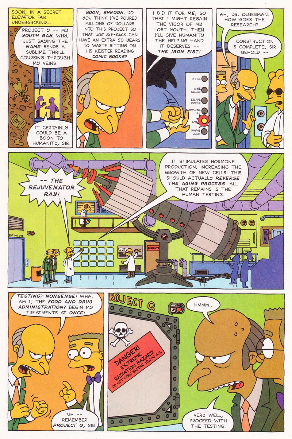 Read online Simpsons Comics comic -  Issue #1 - 7