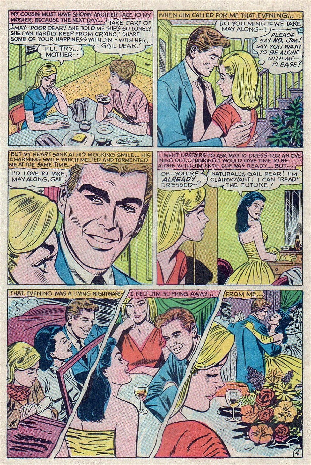 Read online Secret Hearts comic -  Issue #129 - 14