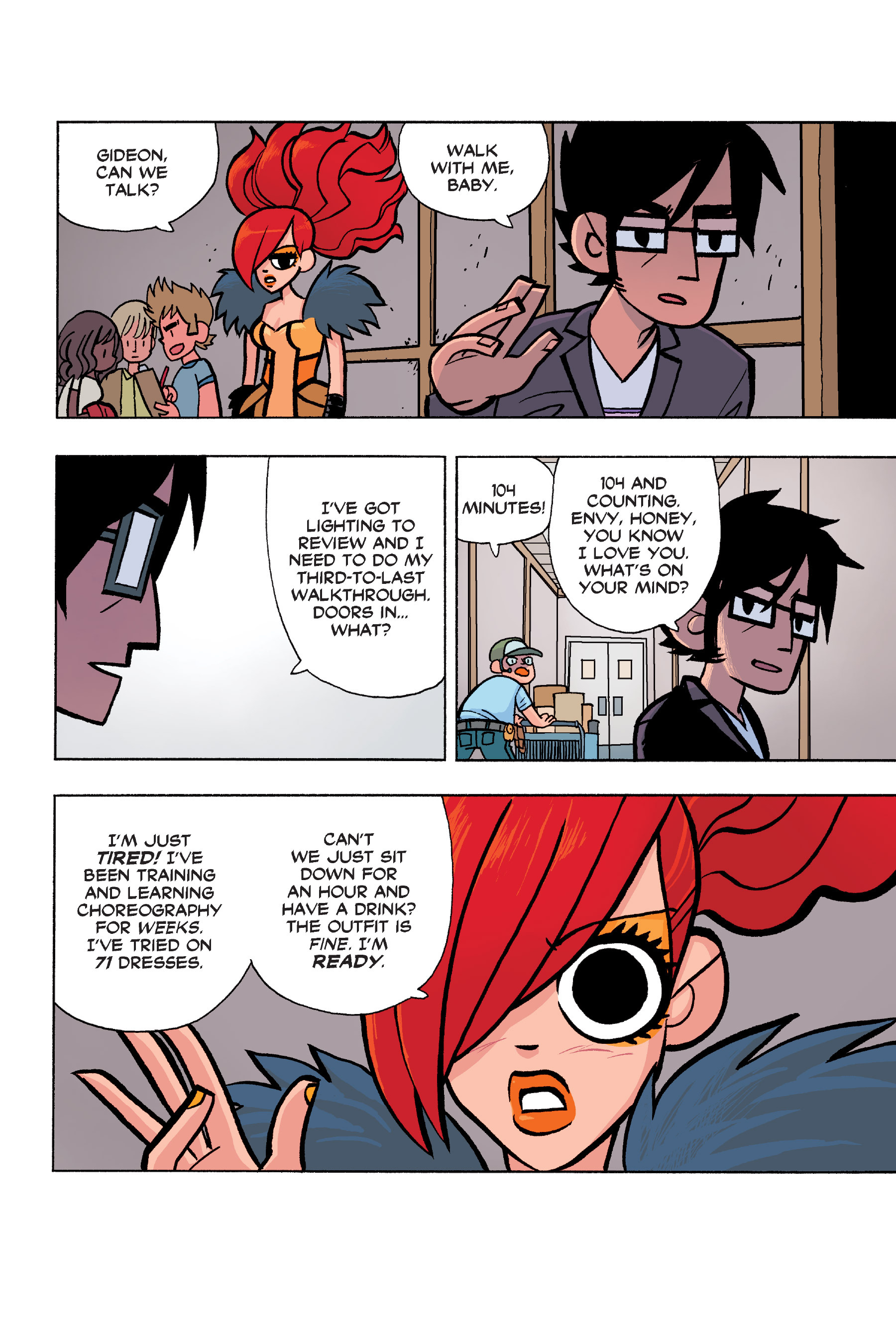 Read online Scott Pilgrim comic -  Issue #6 - 95