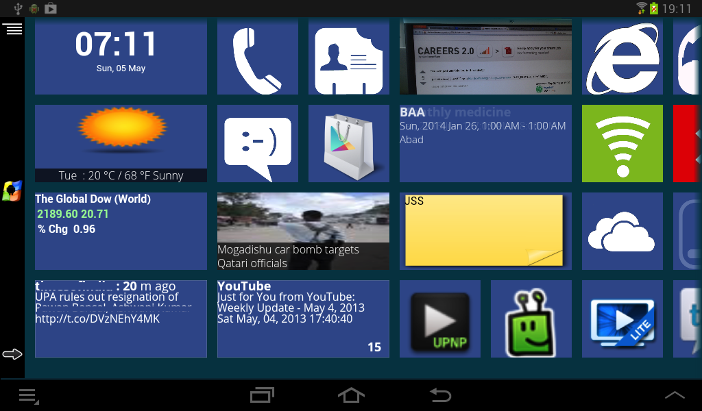 Windows 8 Live Tiles with Apk Full Download
