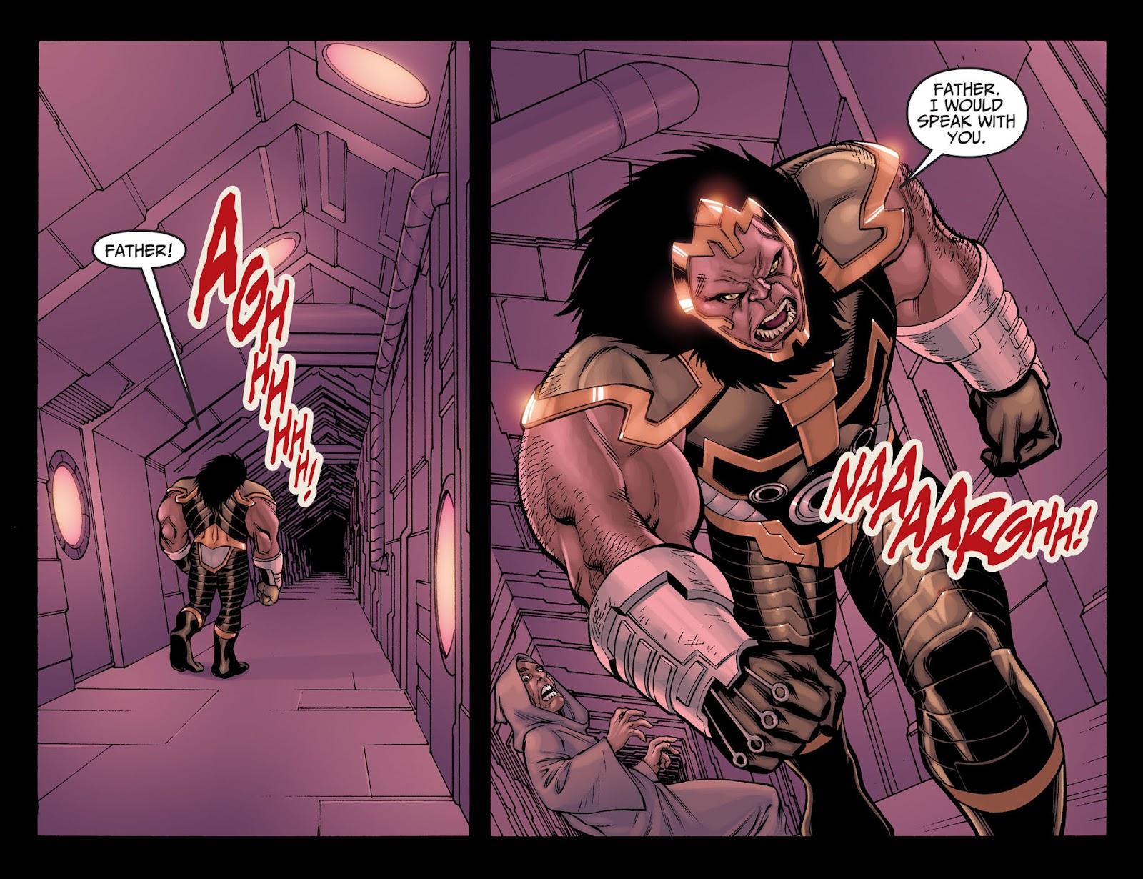 Injustice: Gods Among Us [I] Issue #22 #23 - English 10