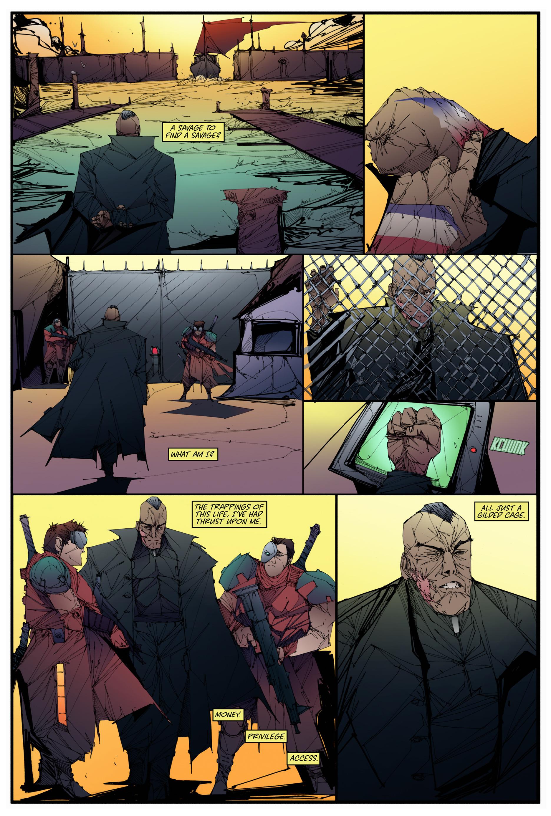 Read online Scrimshaw comic -  Issue #2 - 5