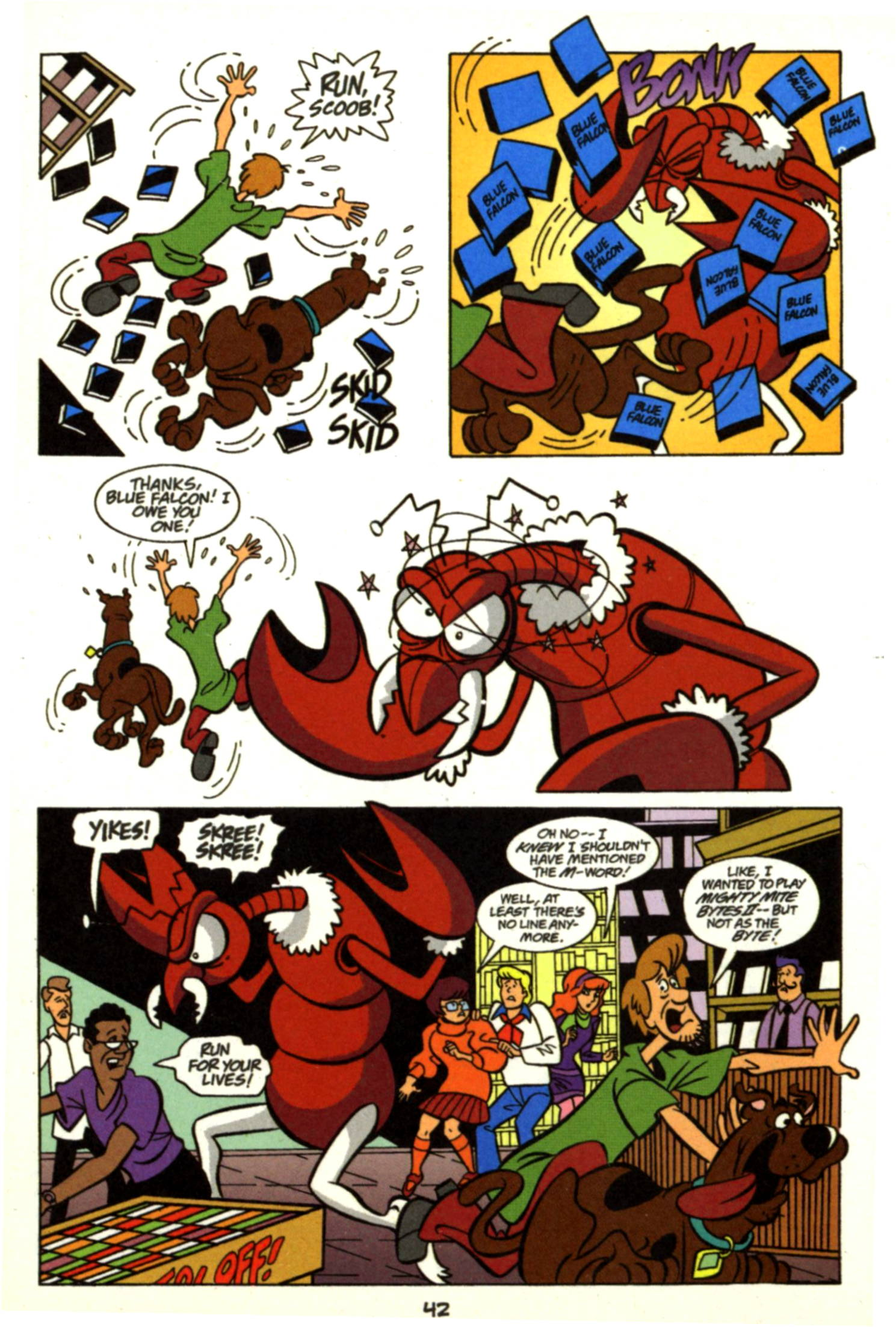 Read online Scooby-Doo (1997) comic -  Issue #17 - 19