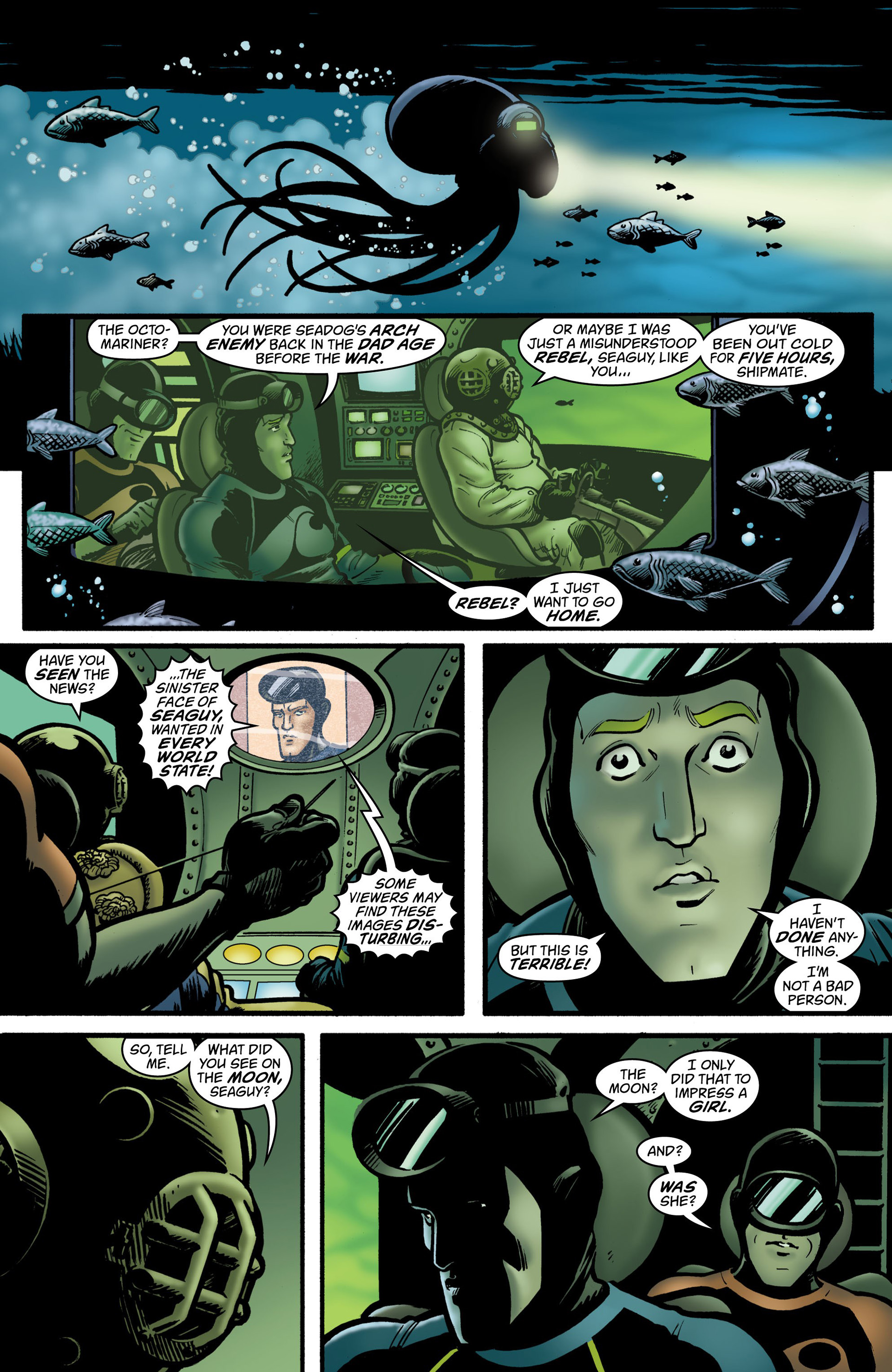 Read online Seaguy: The Slaves of Mickey Eye comic -  Issue #2 - 7