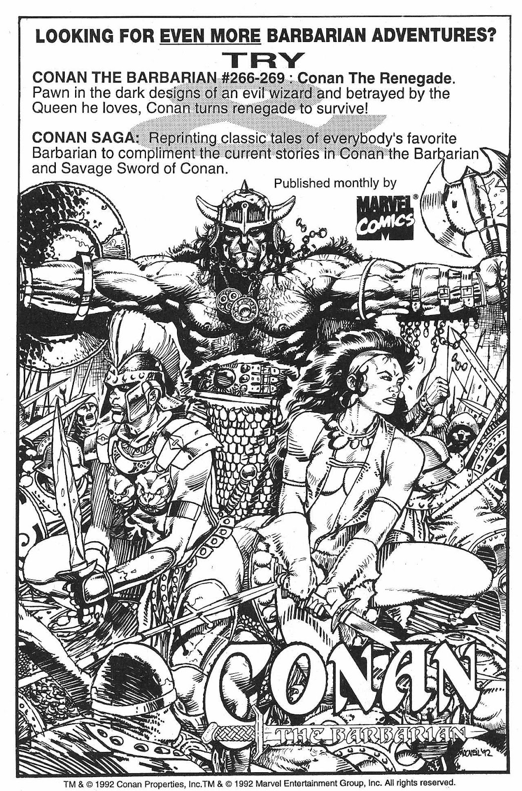 The Savage Sword Of Conan Issue #209 #210 - English 66