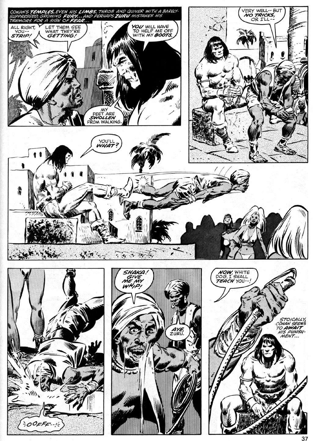 The Savage Sword Of Conan Issue #41 #42 - English 37